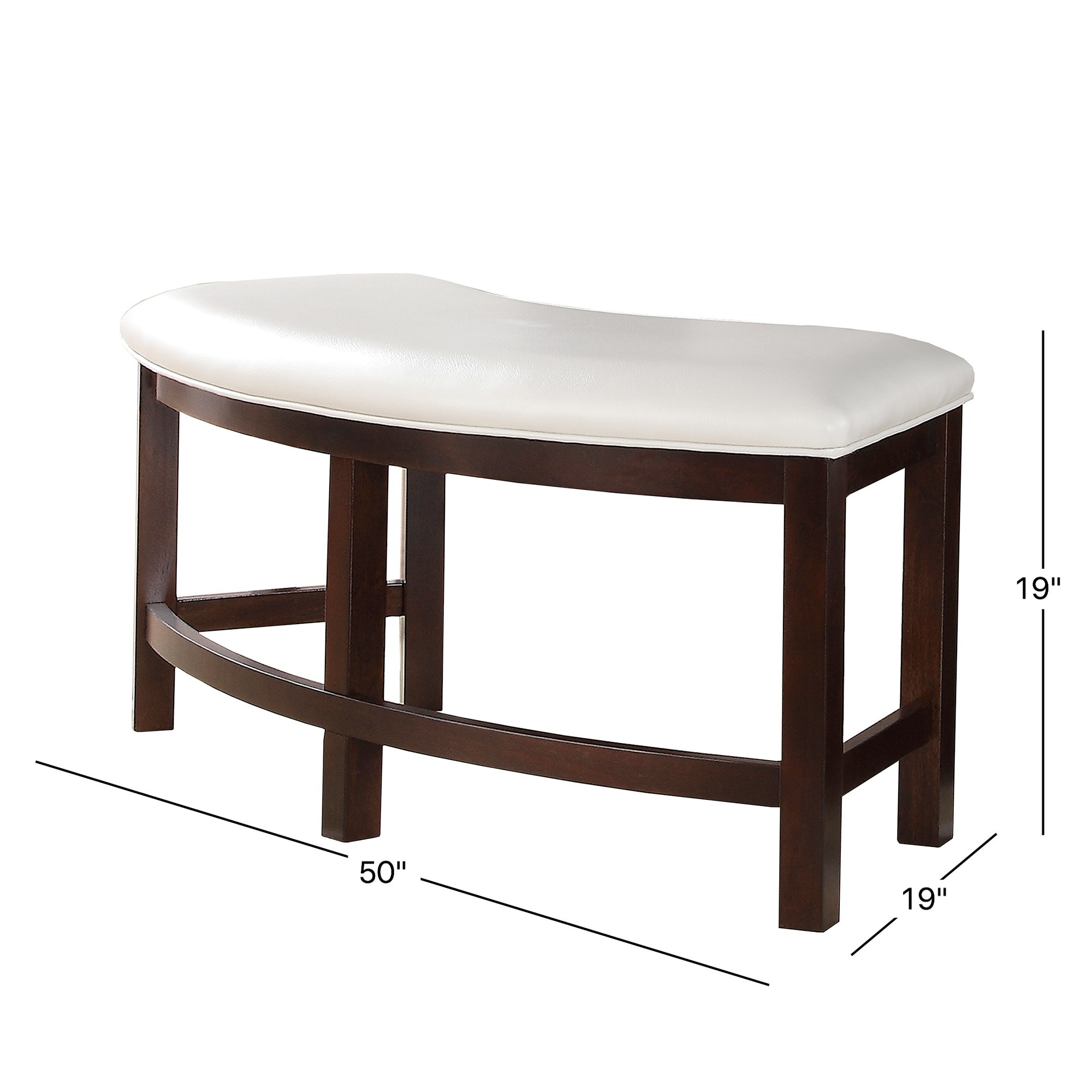 Shop Paradise Merlot Triangle Shaped 4 Piece Dining Set By INSPIRE Q Bold    Free Shipping Today   Overstock.com   4401060