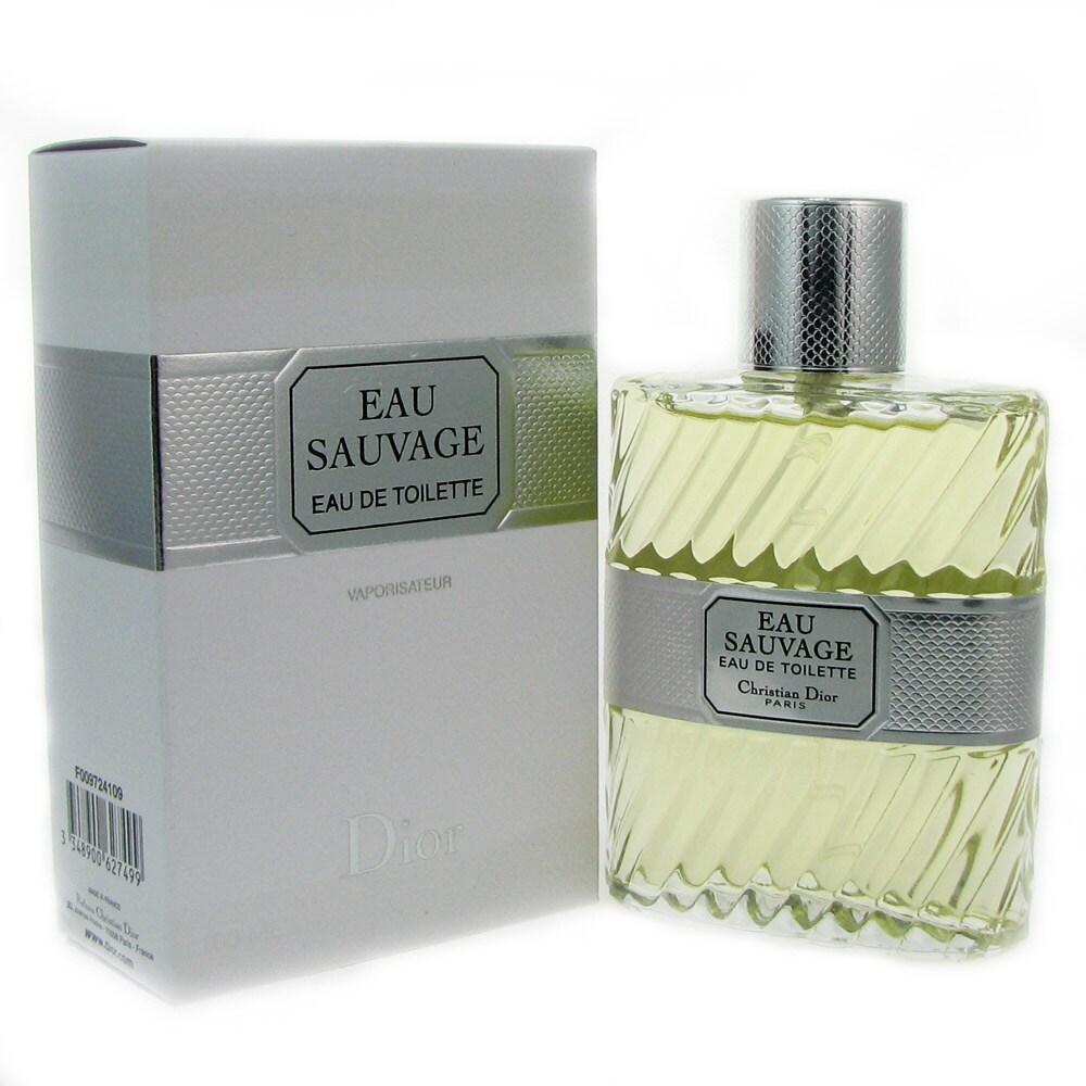 723bd533 Christian Dior Eau Sauvage Men's 3.3-ounce Eau de Toilette Spray