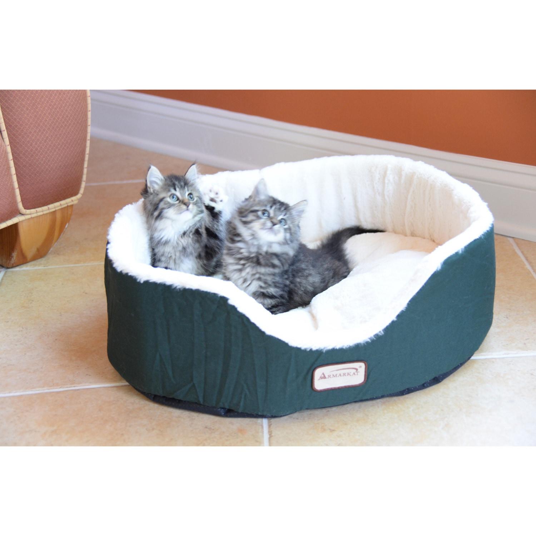 Watch Armarkat Cozy Pet Bed , Mocha and Beige video