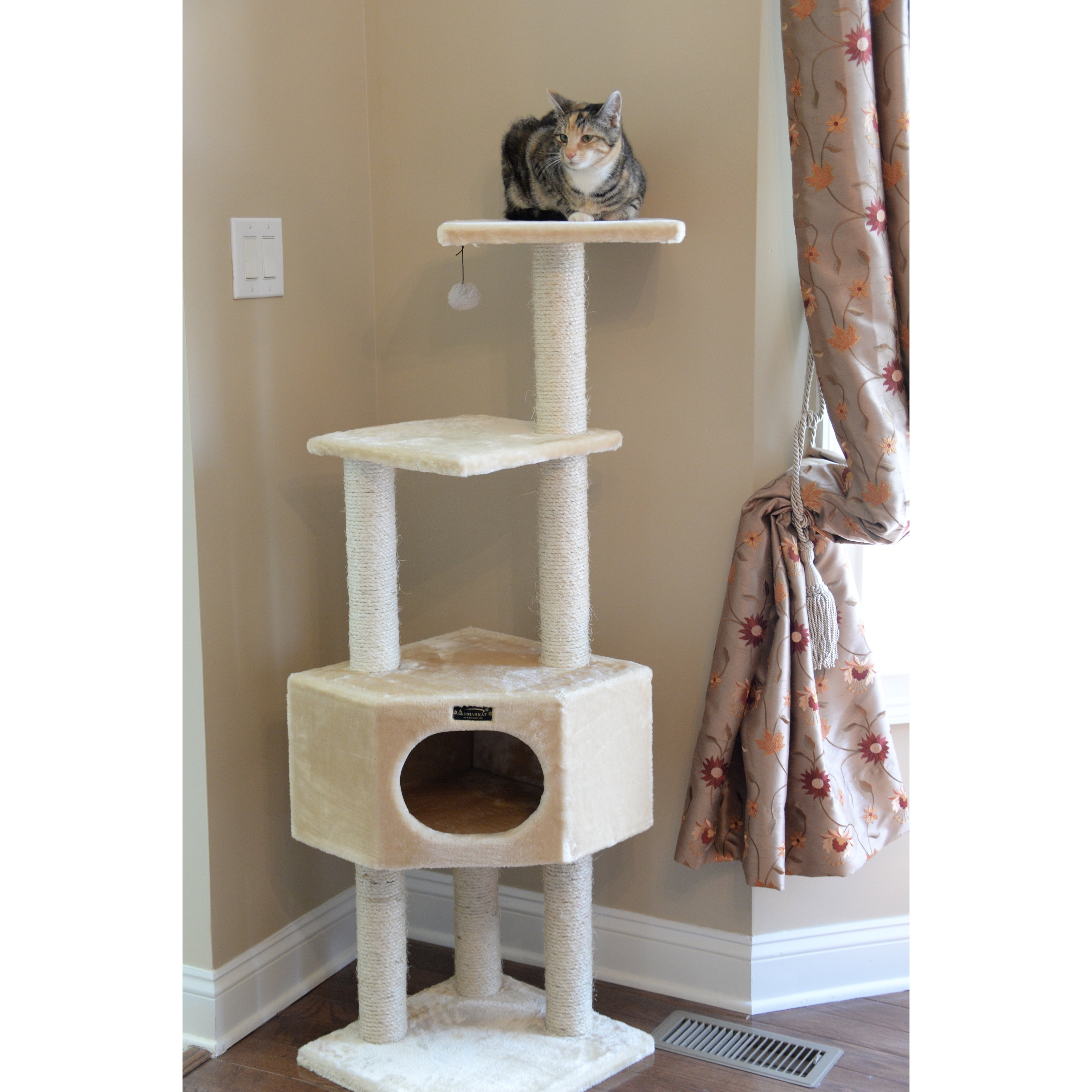 go club tree hammock free furniture supplies product overstock today brown pet high inch cat shipping with
