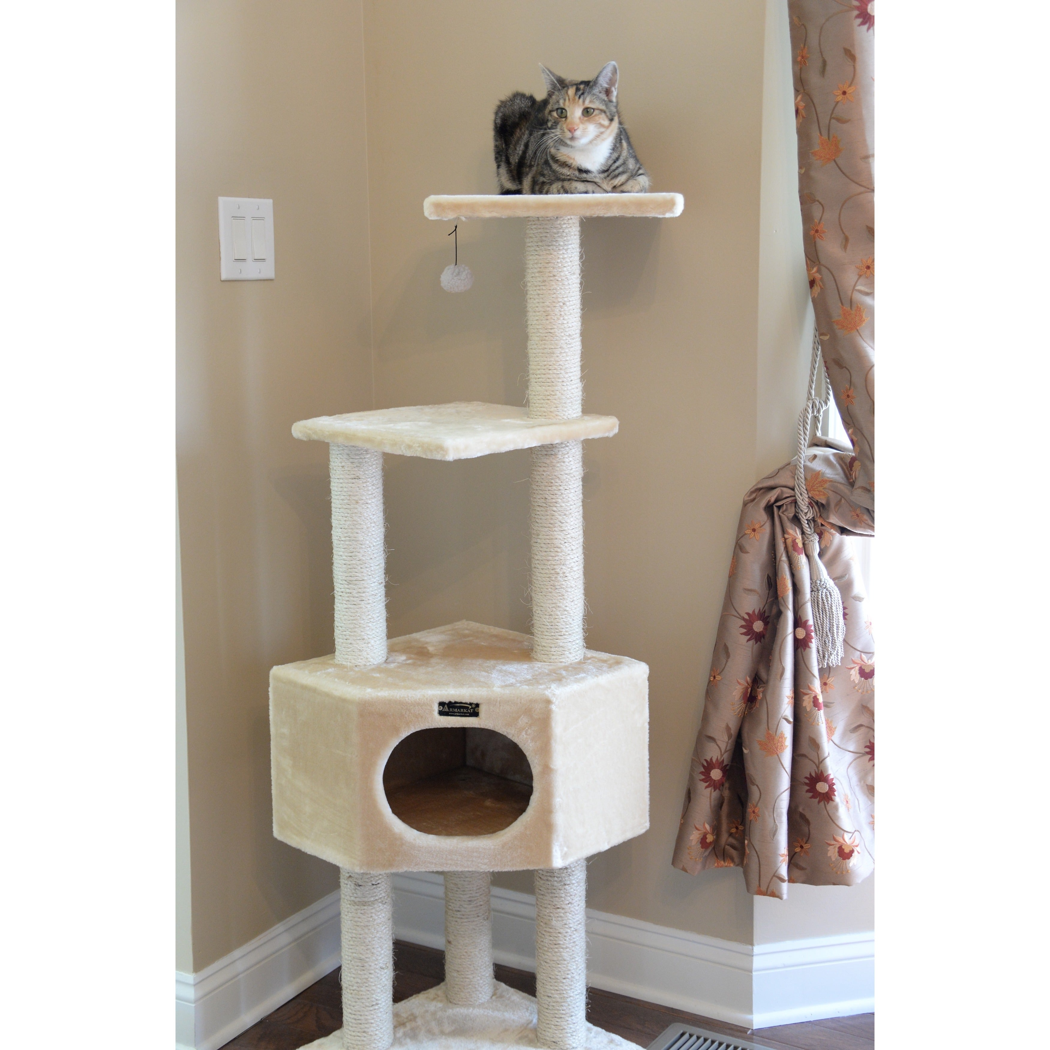 Armarkat Cat Tree Pet Furniture Condo Free Shipping Today