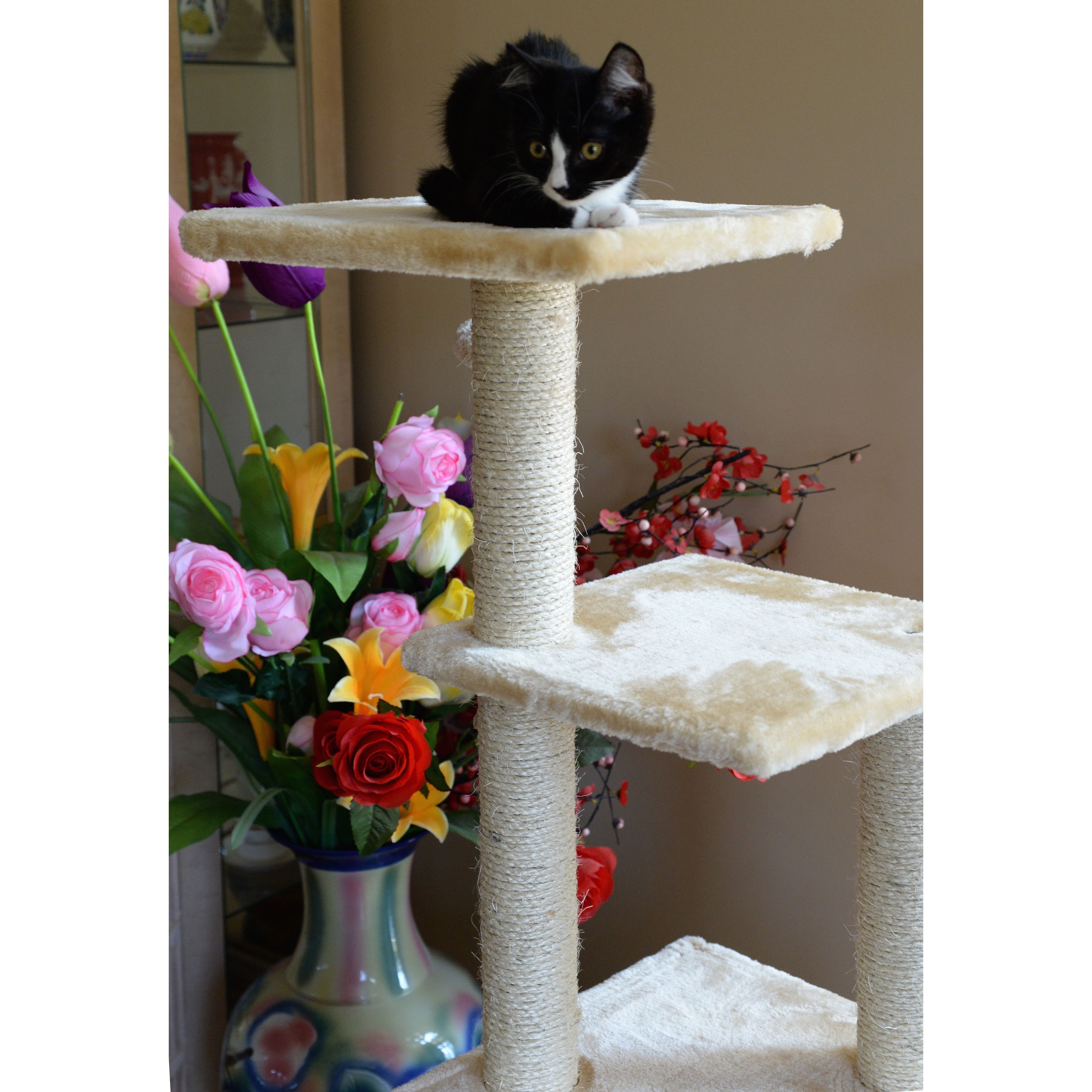 3ae32be4786d Shop Armarkat Cat Tree Pet Furniture Condo - Free Shipping Today -  Overstock - 4413792