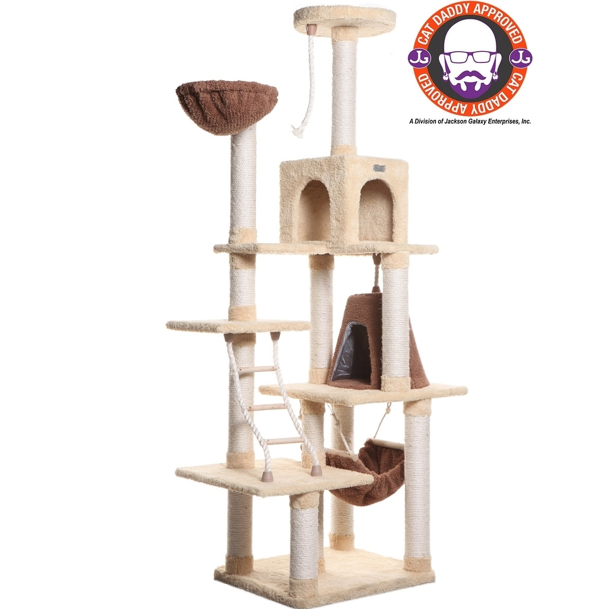 Gentil Shop Armarkat Premium Cat Condo Faux Fleece Covered Pet Furniture   Free  Shipping Today   Overstock.com   4413827