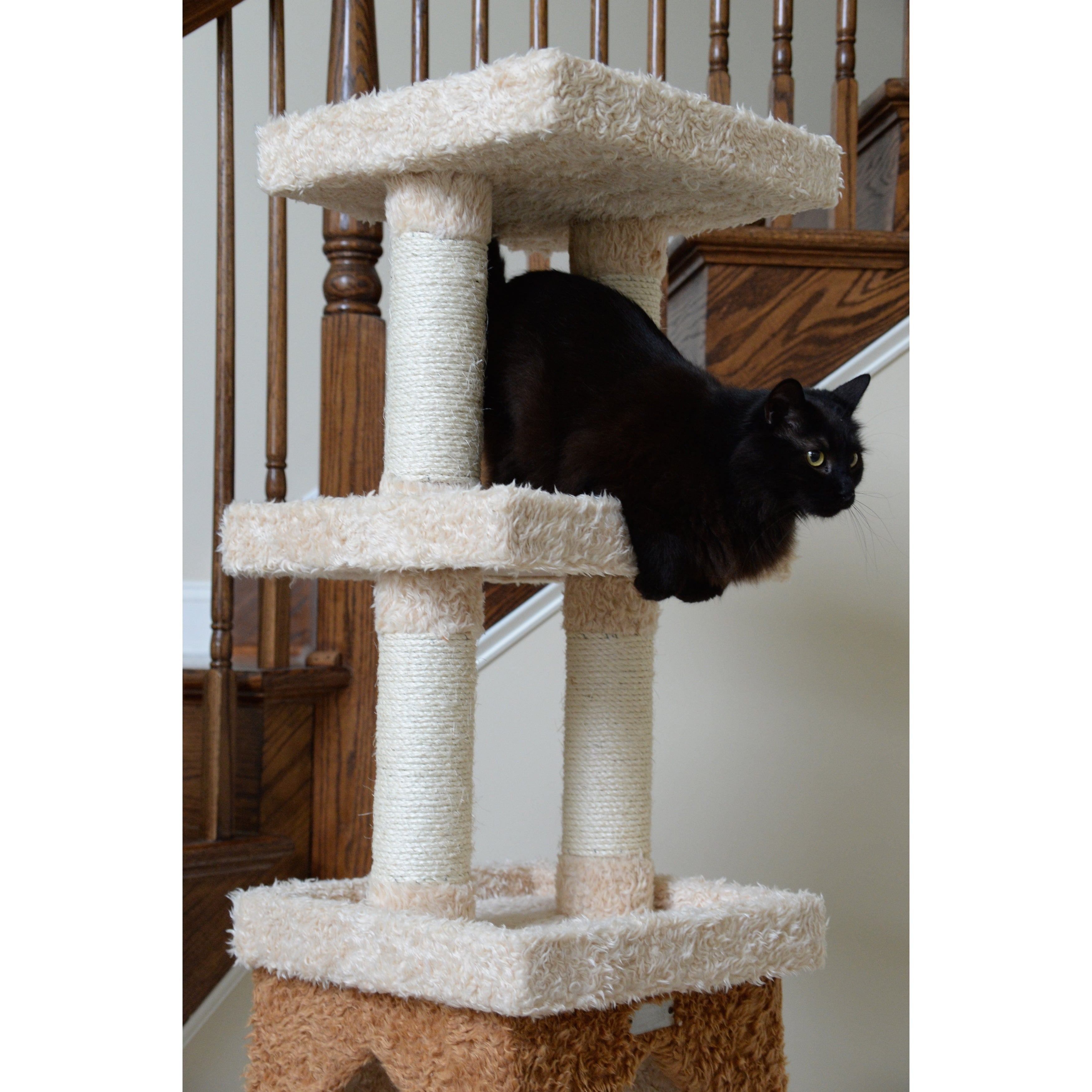 Attirant Shop Armarkat Premium Cat Condo Faux Fur Covered Pet Furniture   Free  Shipping Today   Overstock.com   4413828