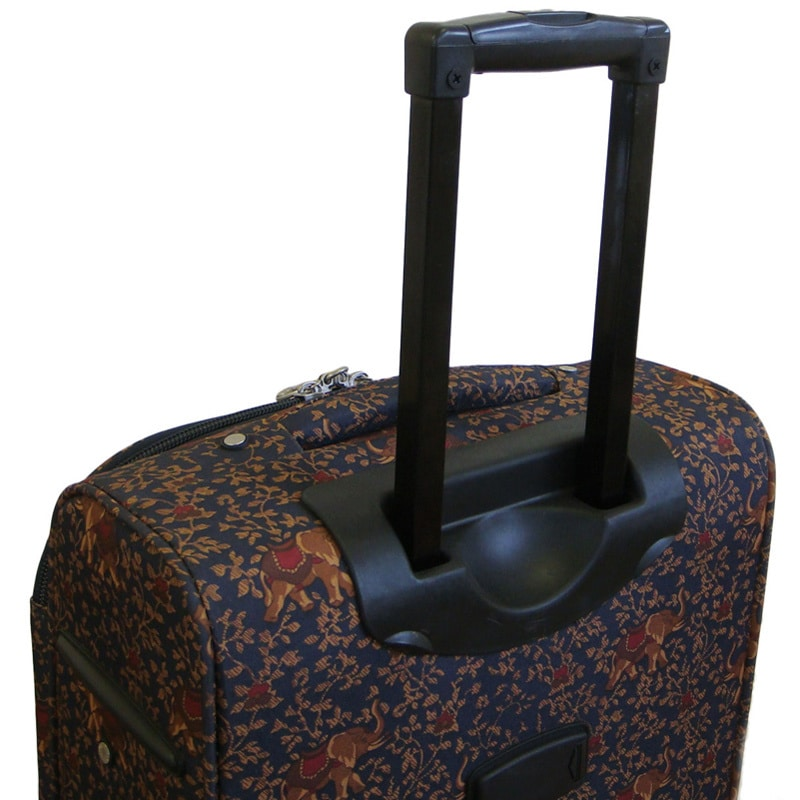 91a76d0cf Shop American Flyer Budapest Metallic Blue 5-piece Spinner Luggage Set -  Free Shipping Today - Overstock - 4429773