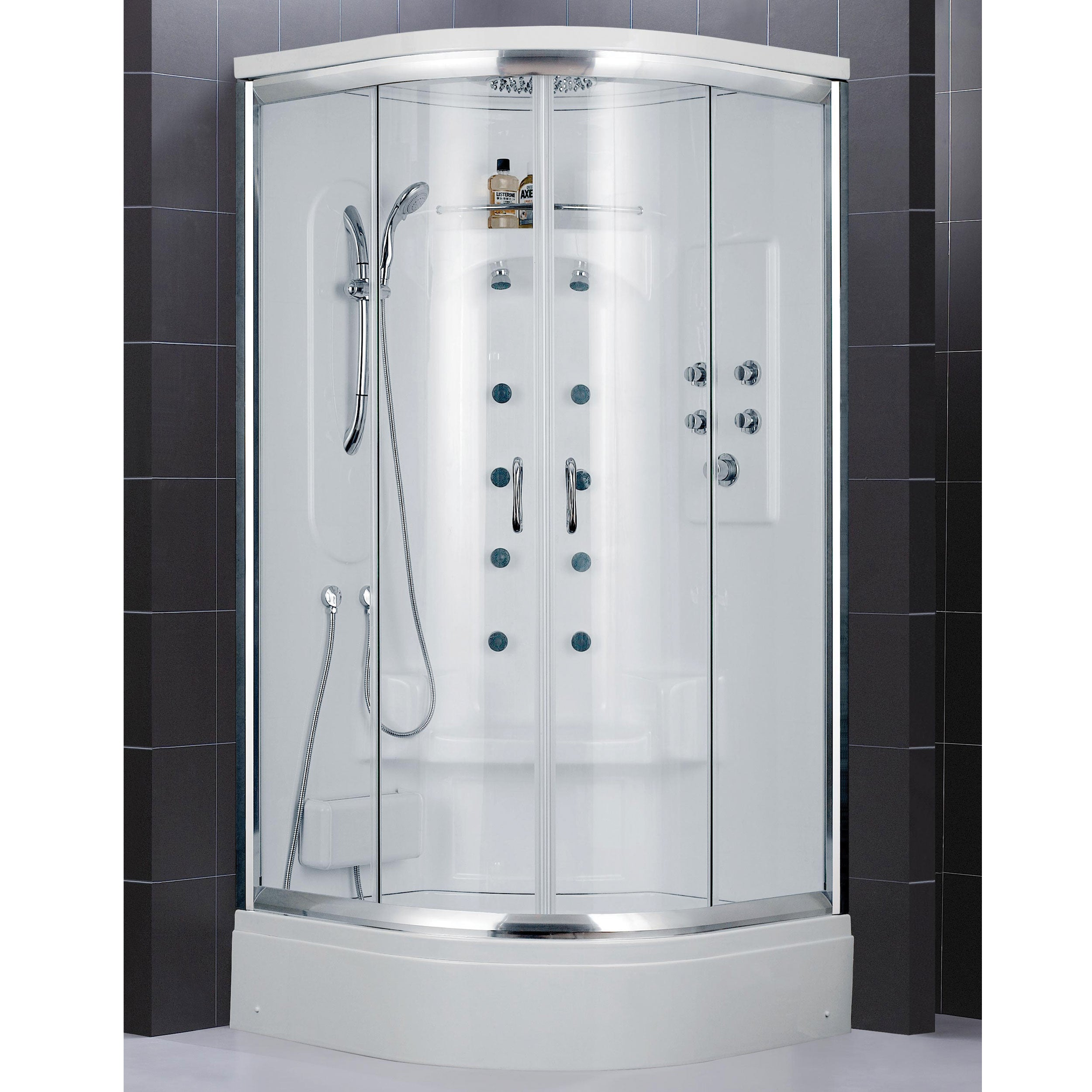 Shop DreamLine Niagara Jetted Shower Cabin - Free Shipping Today ...