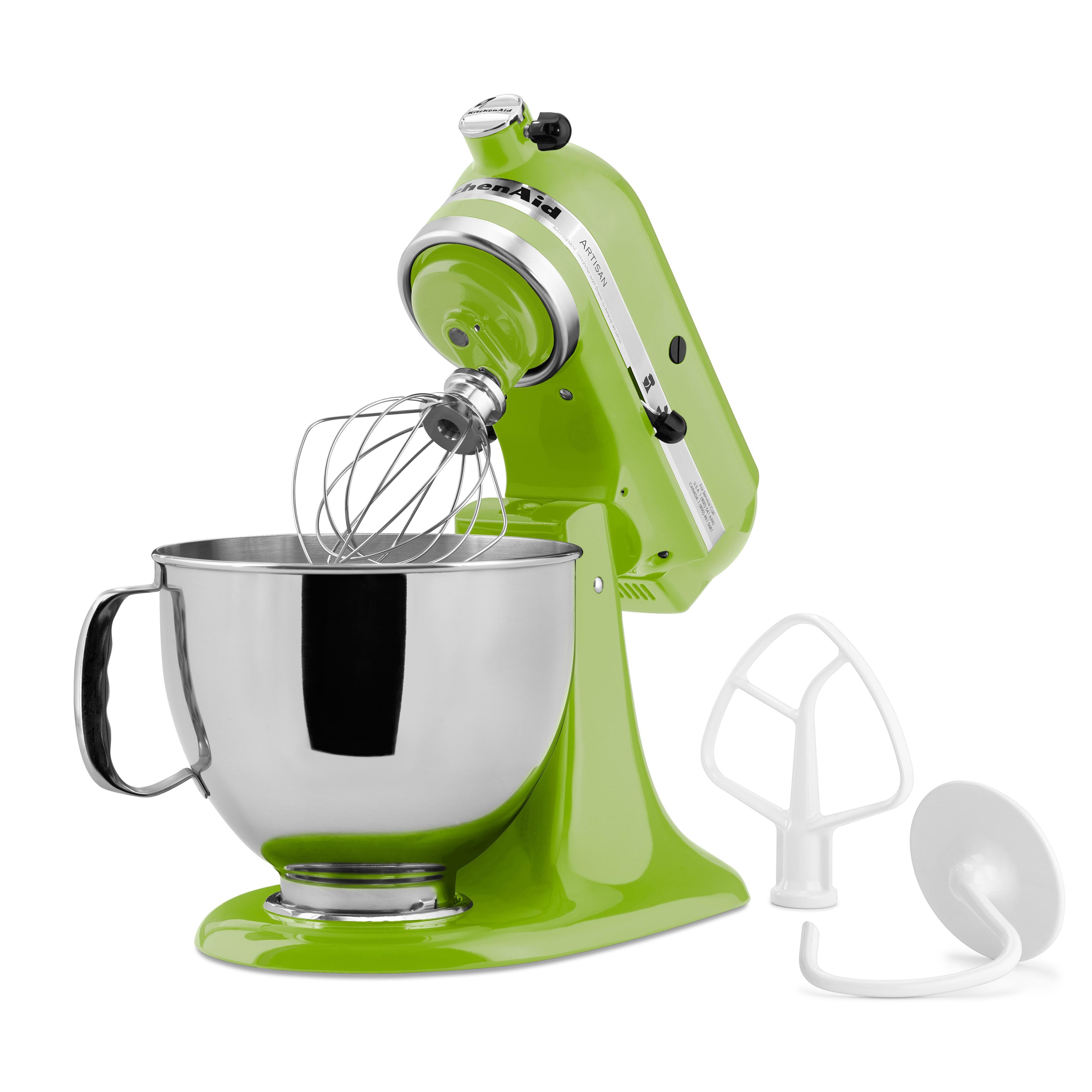 Shop KitchenAid KSM150PSGA Green Apple 5 Qt. Tilt Head Stand Mixer   Free  Shipping Today   Overstock.com   4491697