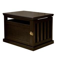 Furniture Style Dog Crates For Shop Espresso Furniturestyle Dog Crate Free Shipping Today Overstockcom 4549376