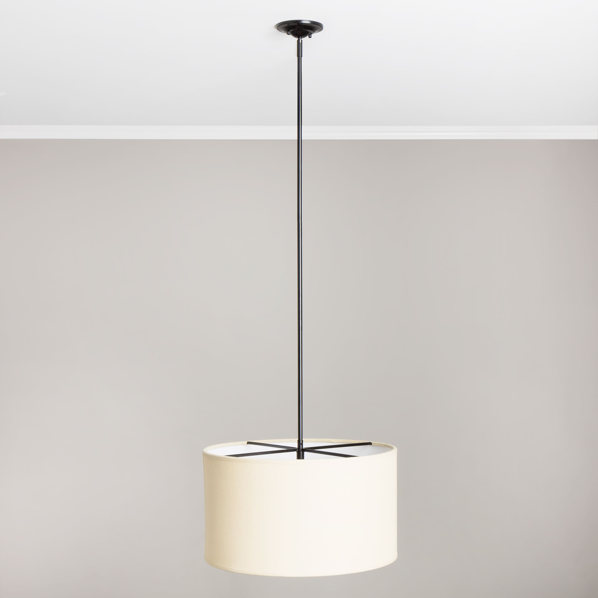 New ventura 3 light round chandelier