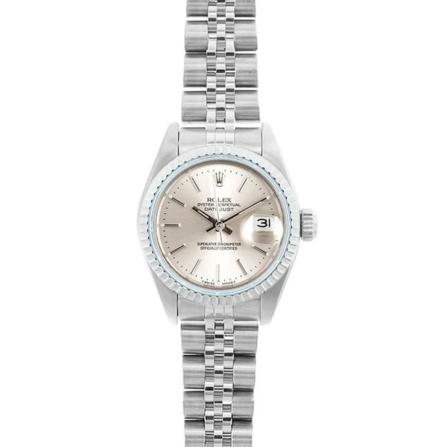 Shop Pre-owned Rolex Datejust Women s Stainless Steel Jubilee Band ... 41be216193