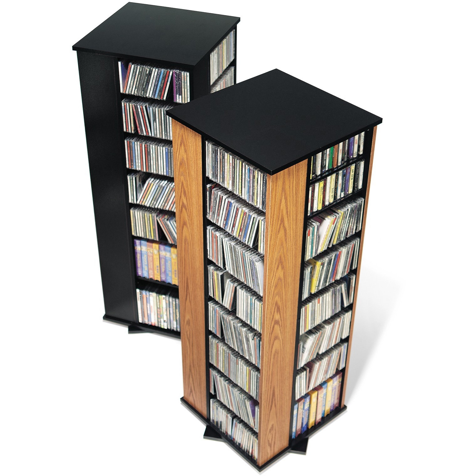 Exceptionnel Shop Spinning Media Storage Tower   Free Shipping Today   Overstock.com    457514