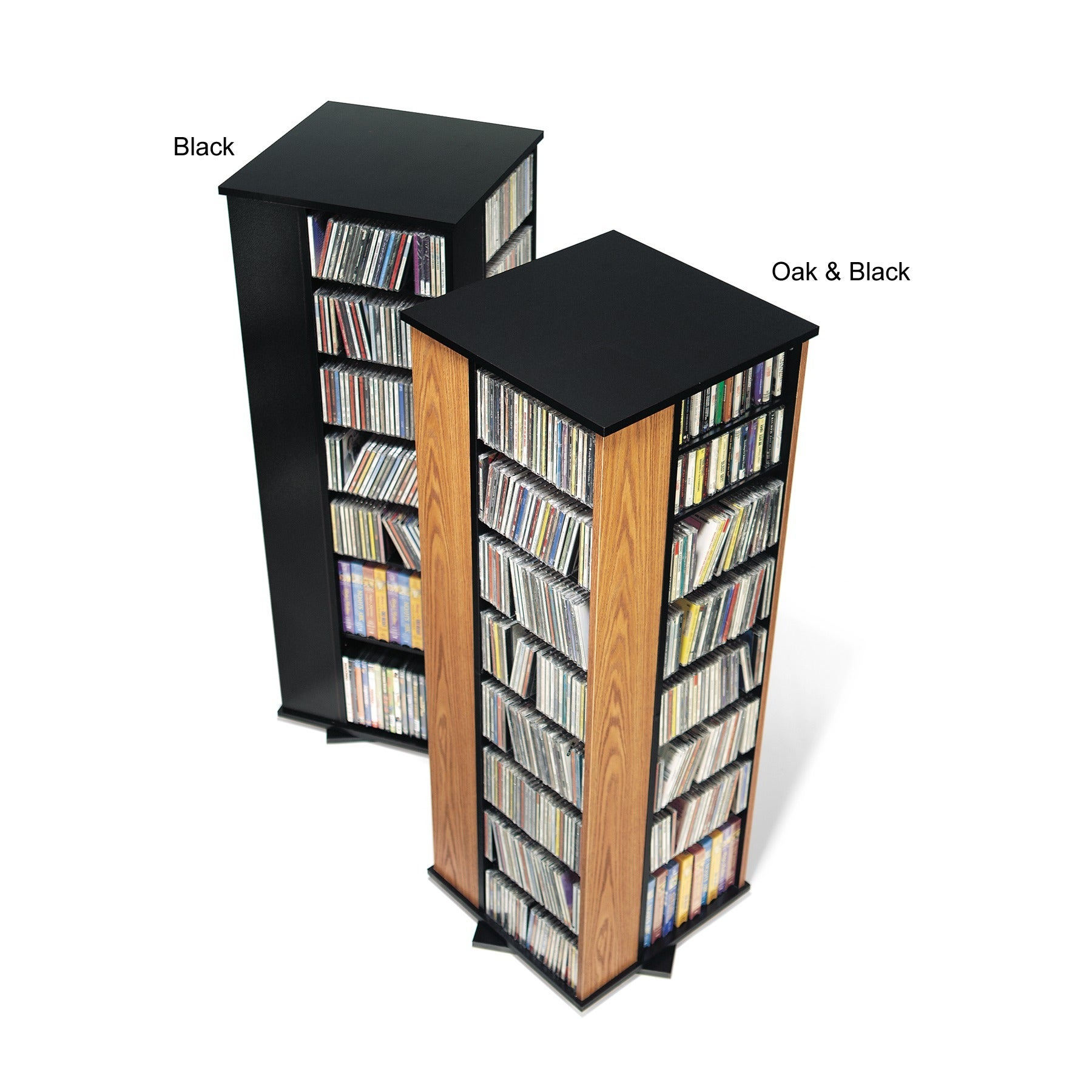 Spinning Media Storage Tower   Free Shipping Today   Overstock.com   929434