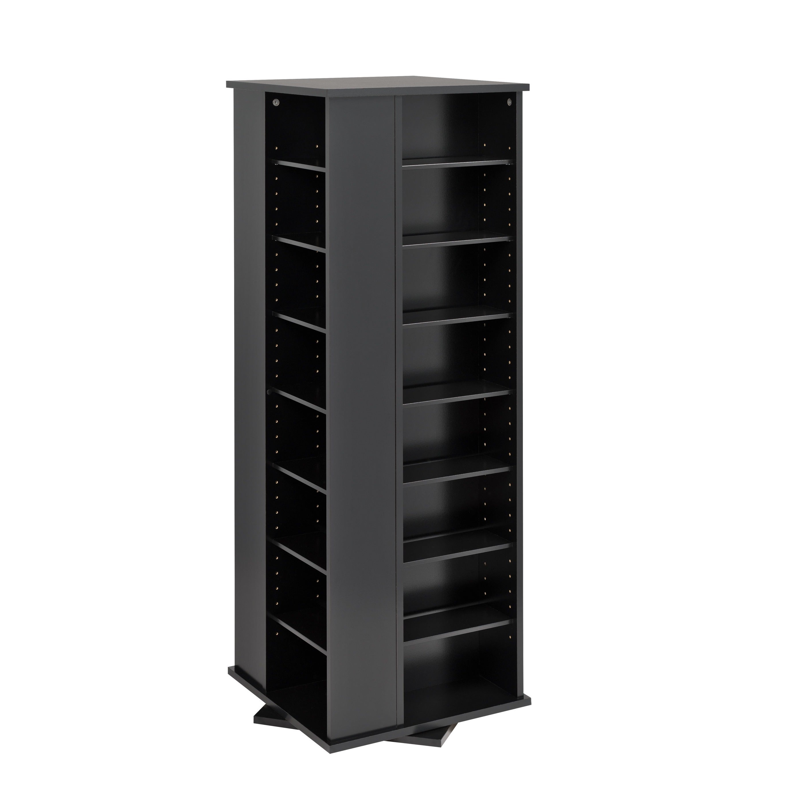 Beau Shop Spinning Media Storage Tower   Free Shipping Today   Overstock.com    457514