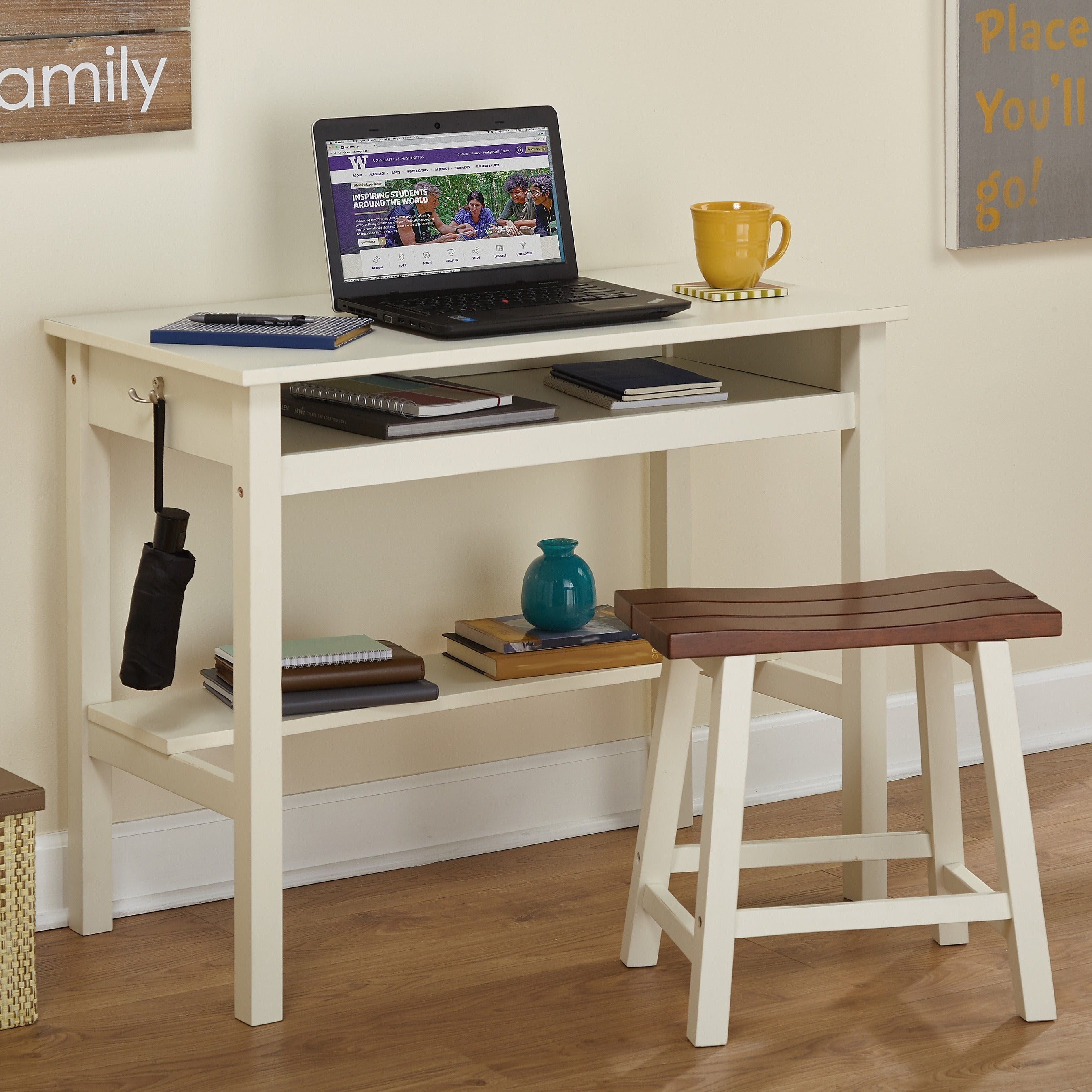 Simple Living Madison Study Desk Set Free Shipping Today