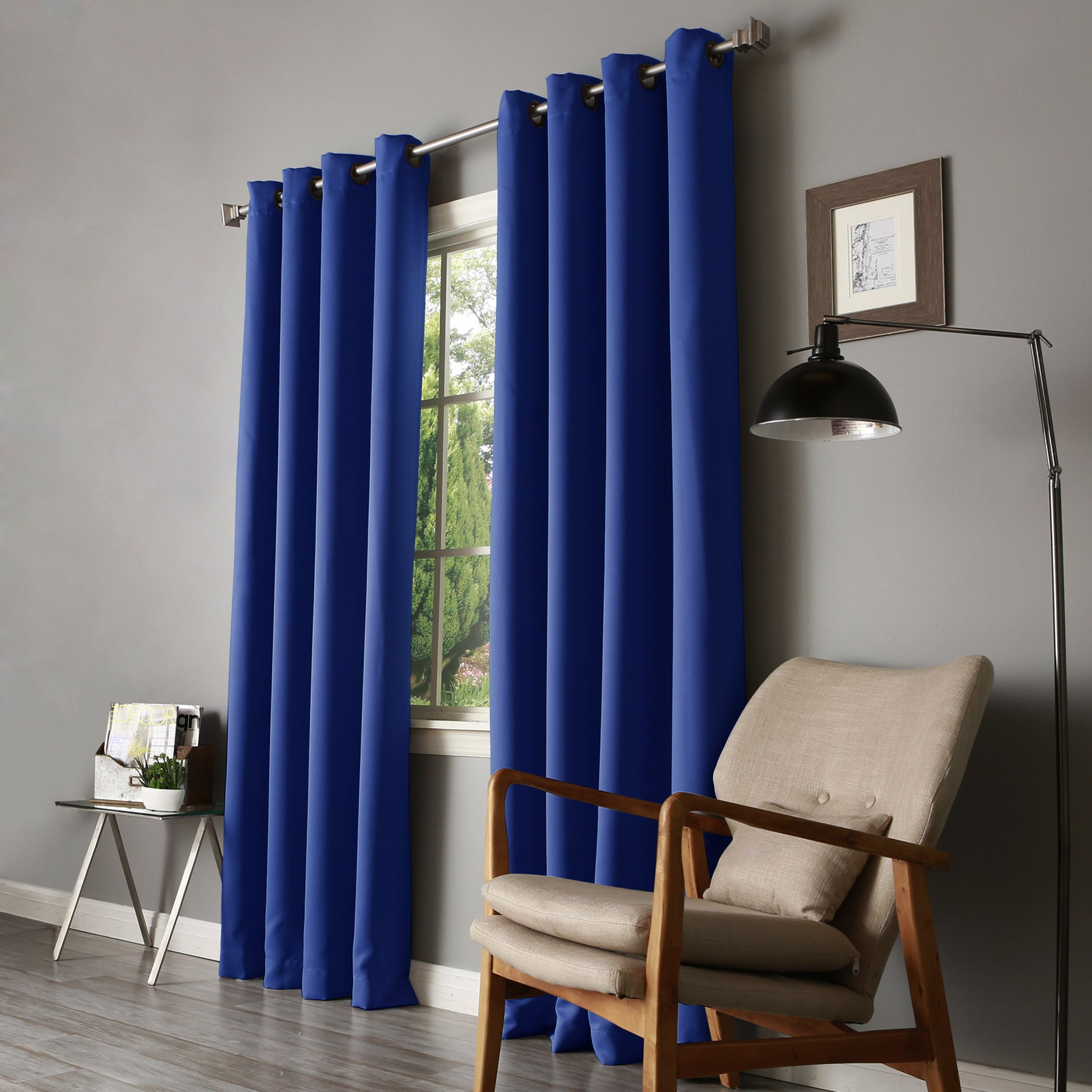 blue tag white navy of blackout coffee grommet deconovo royal bluekout curtainsblackout magnificent curtains pictures velvet and inspirations tags rackseclipse size curtain tables full sensational