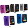 INSTEN Clear TPU Rubber Skin iPod Case Cover for iPod Touch Gen 2/ 3