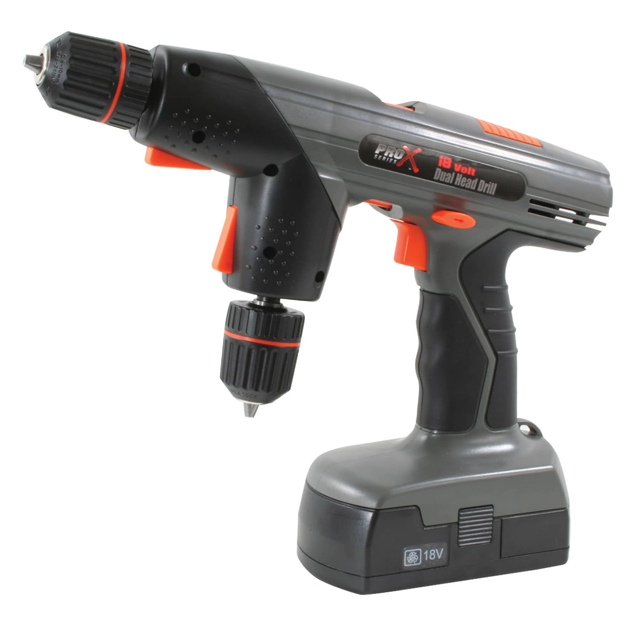 shop pro series x 18-volt dual-head drill - free shipping today