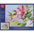 Dimensions Hibiscus Hummingbird Paint by Number Kit