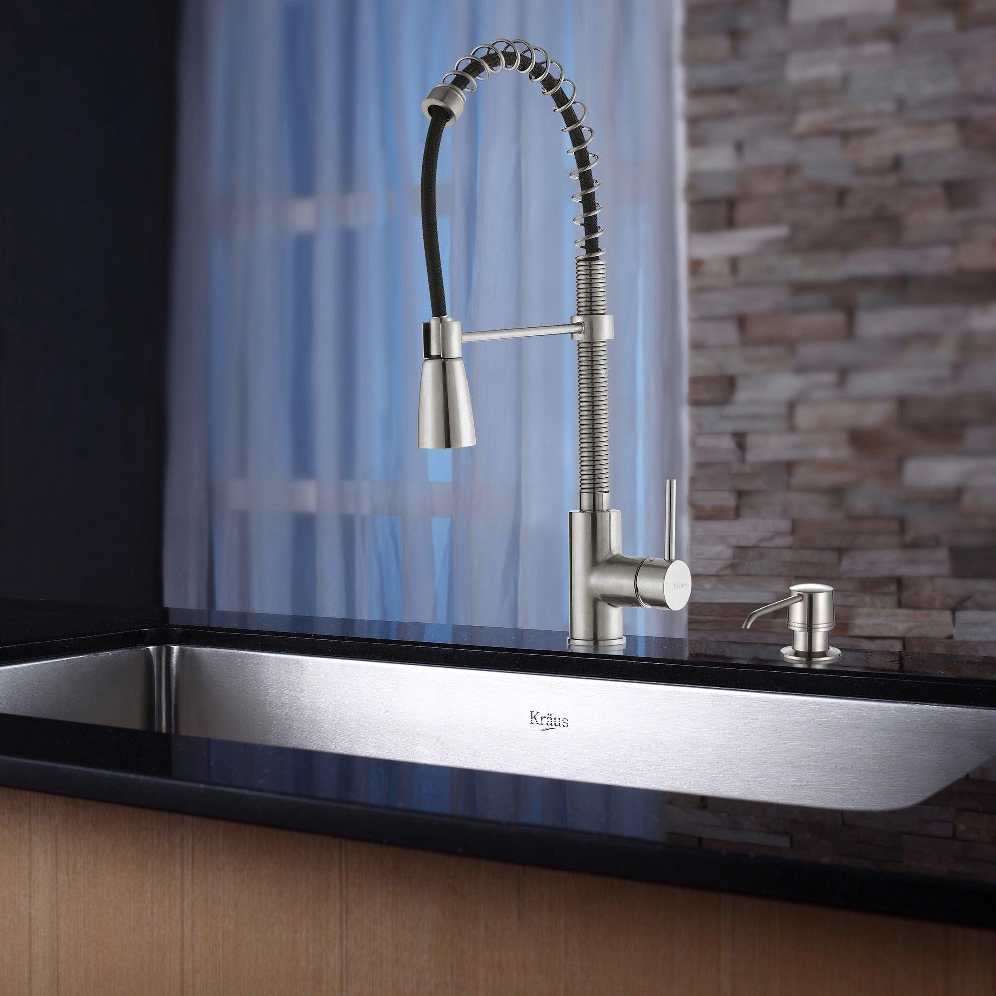 Shop KRAUS 30 Inch Undermount Single Bowl Stainless Steel Kitchen ...