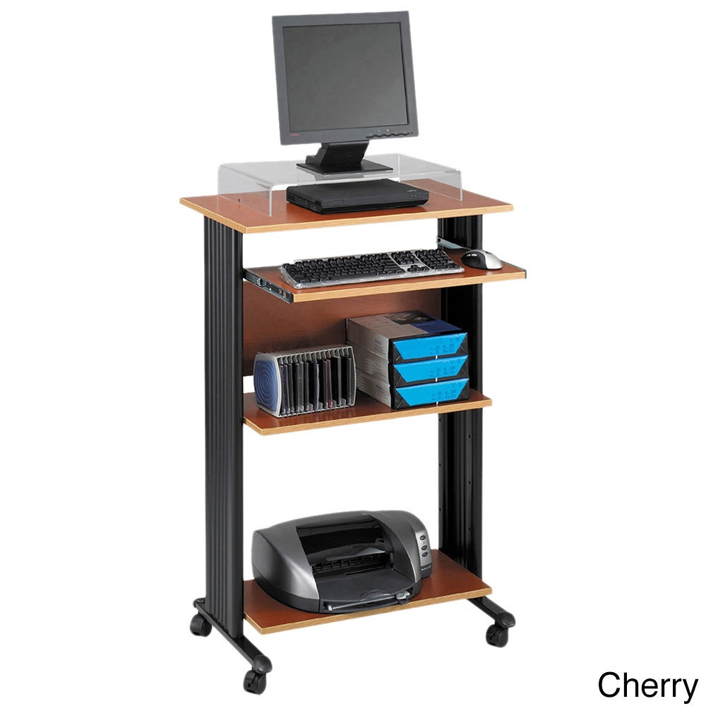 Shop safco muv stand up computer workstation desk free shipping today overstock com 4656887