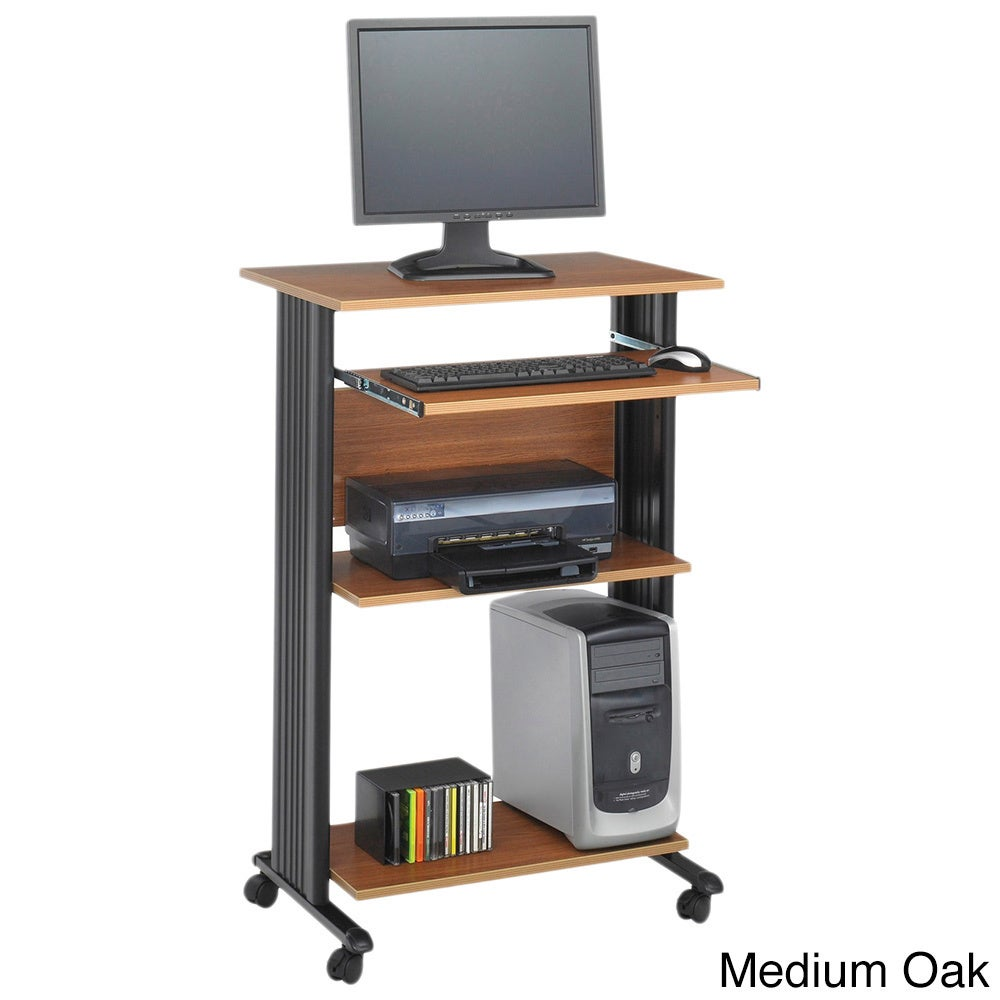 Ordinaire Shop Safco MUV Stand Up Computer Workstation Desk   Free Shipping Today    Overstock.com   4656887