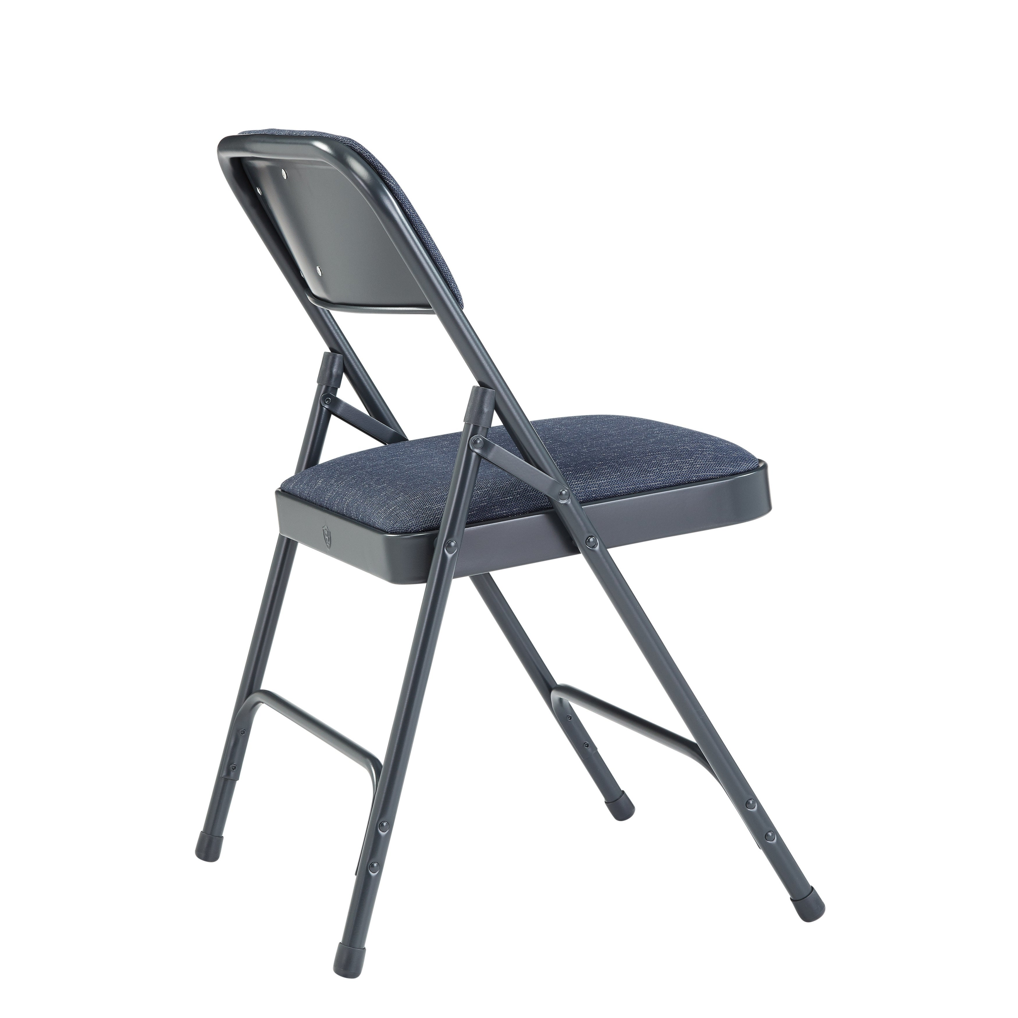 Nps Fabric Upholstered Premium Folding Chairs Pack Of 4