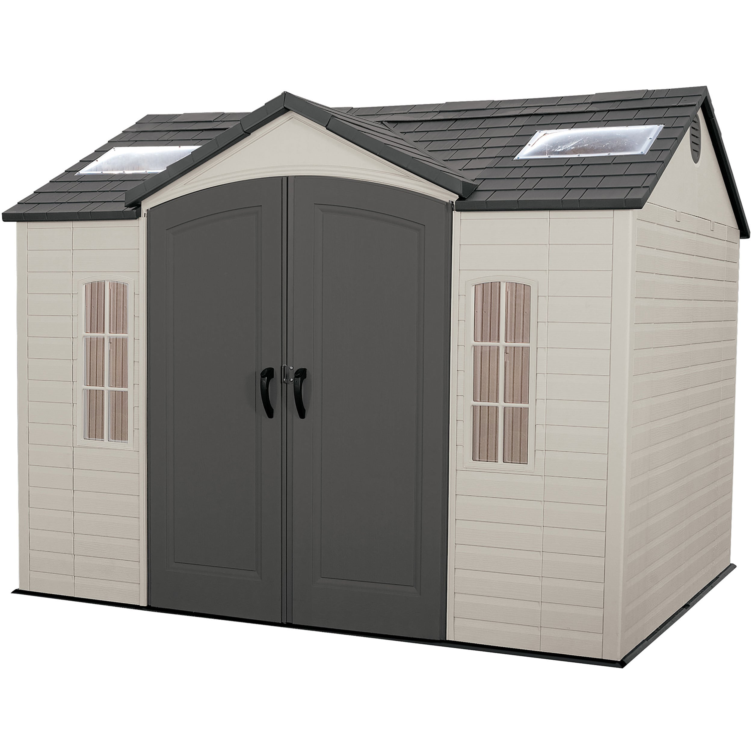 lifetime garden shed free shipping today overstock com 12597850