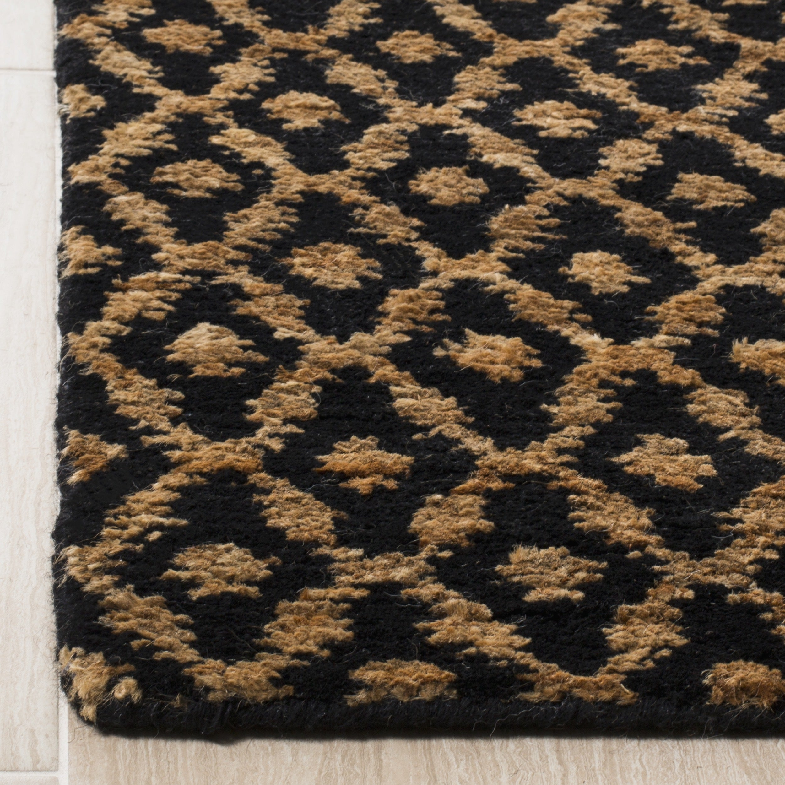 amalfi ebay scroll homes olefin ornate gold taupe runner better circles or gardens lavishly innovative and black rug area x