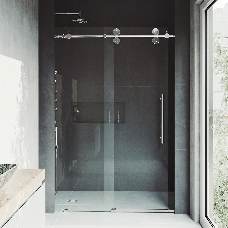 shower the design sliding of door look frameless this glass clear elan inspirational x plete ideas modern home vigo bathroom with lovely your