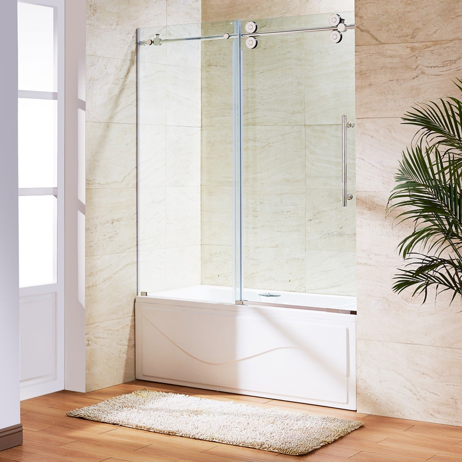 alluring above to shower doors pertaining applied tub residence frameless glass idea with your door bath