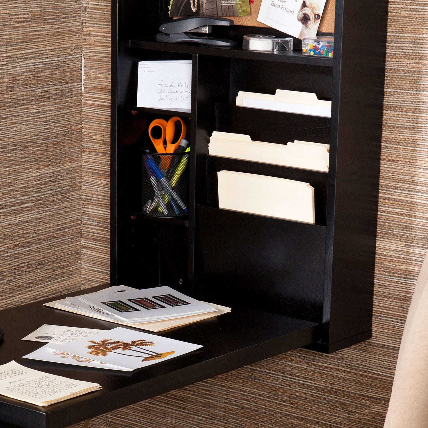 Smartly Remington Disappearing Desk Bed Hide Away Desk Bed Wilding Wallbeds  in Murphy Bed With Desk