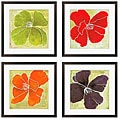 Gallery Direct Luna Gunn 'Color Study II, III, V, VI' Giclee Framed Art (Set of 4)