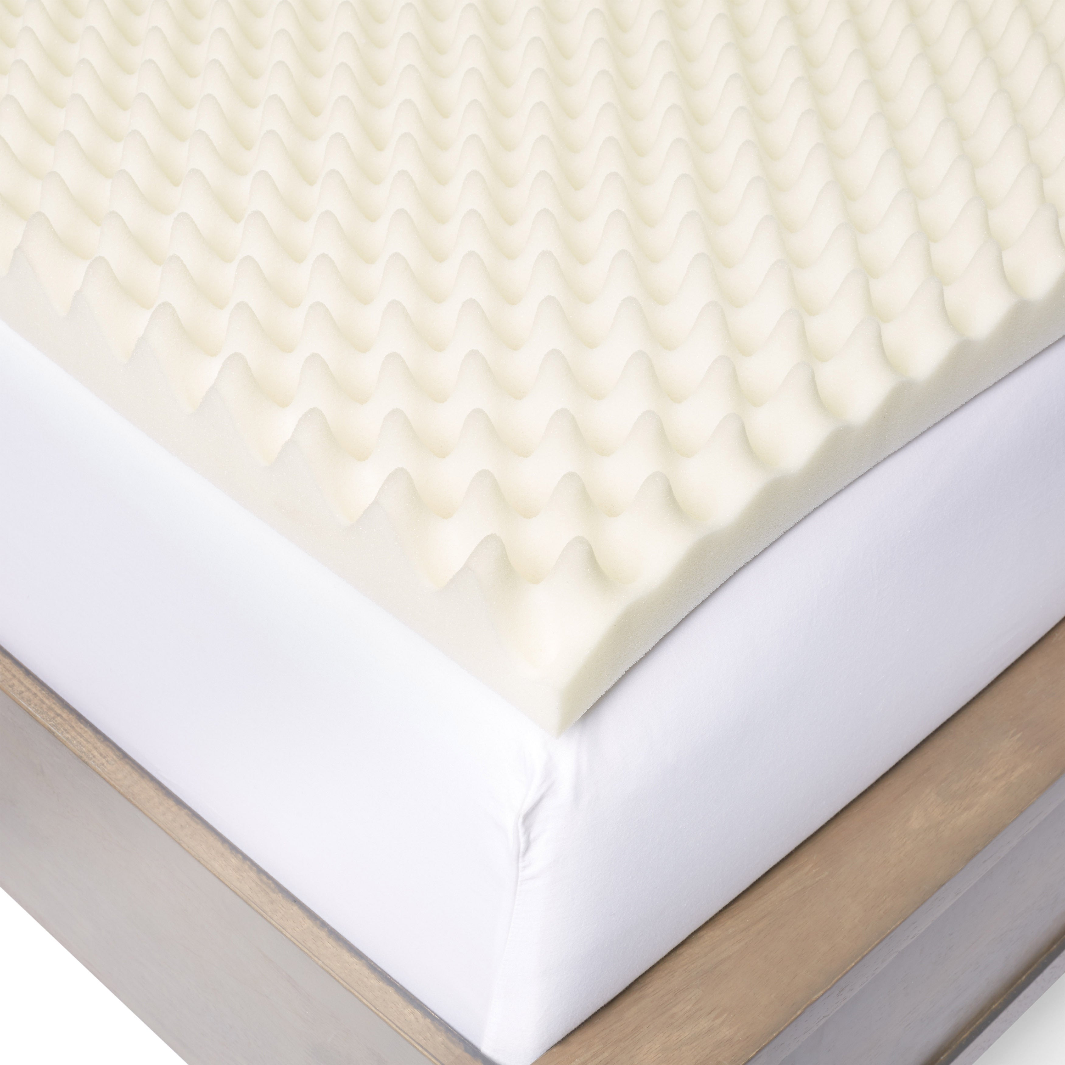 foam q cover cool w memory queen pad fabric bamboo gel topper mattress top