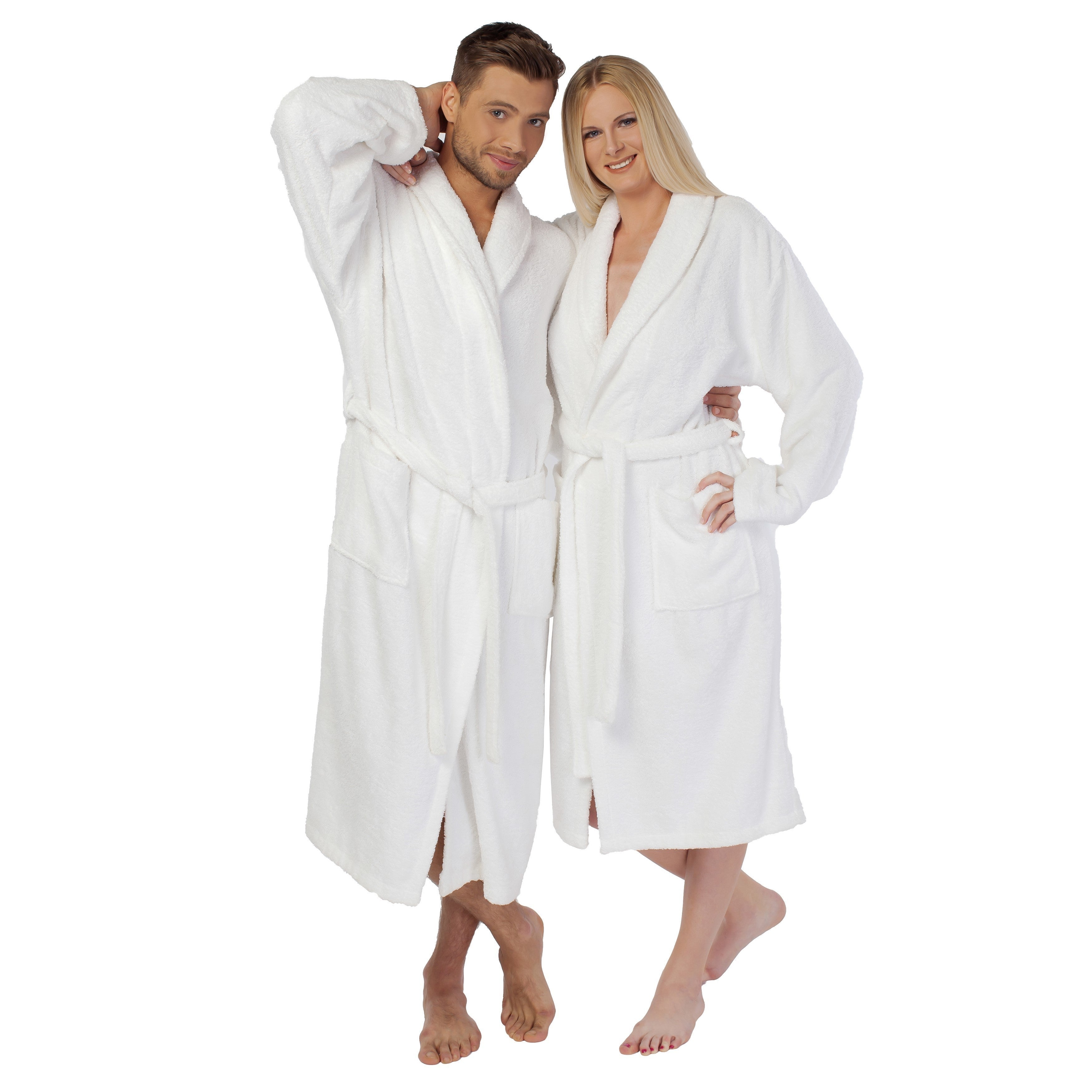 2fedefec62 Shop Authentic Hotel Spa Unisex Turkish Cotton Terry Cloth Bath Robe - Free  Shipping Today - Overstock - 4757191