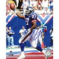 Rodney Hampton Autographed Giants Touchdown Celebration Photo