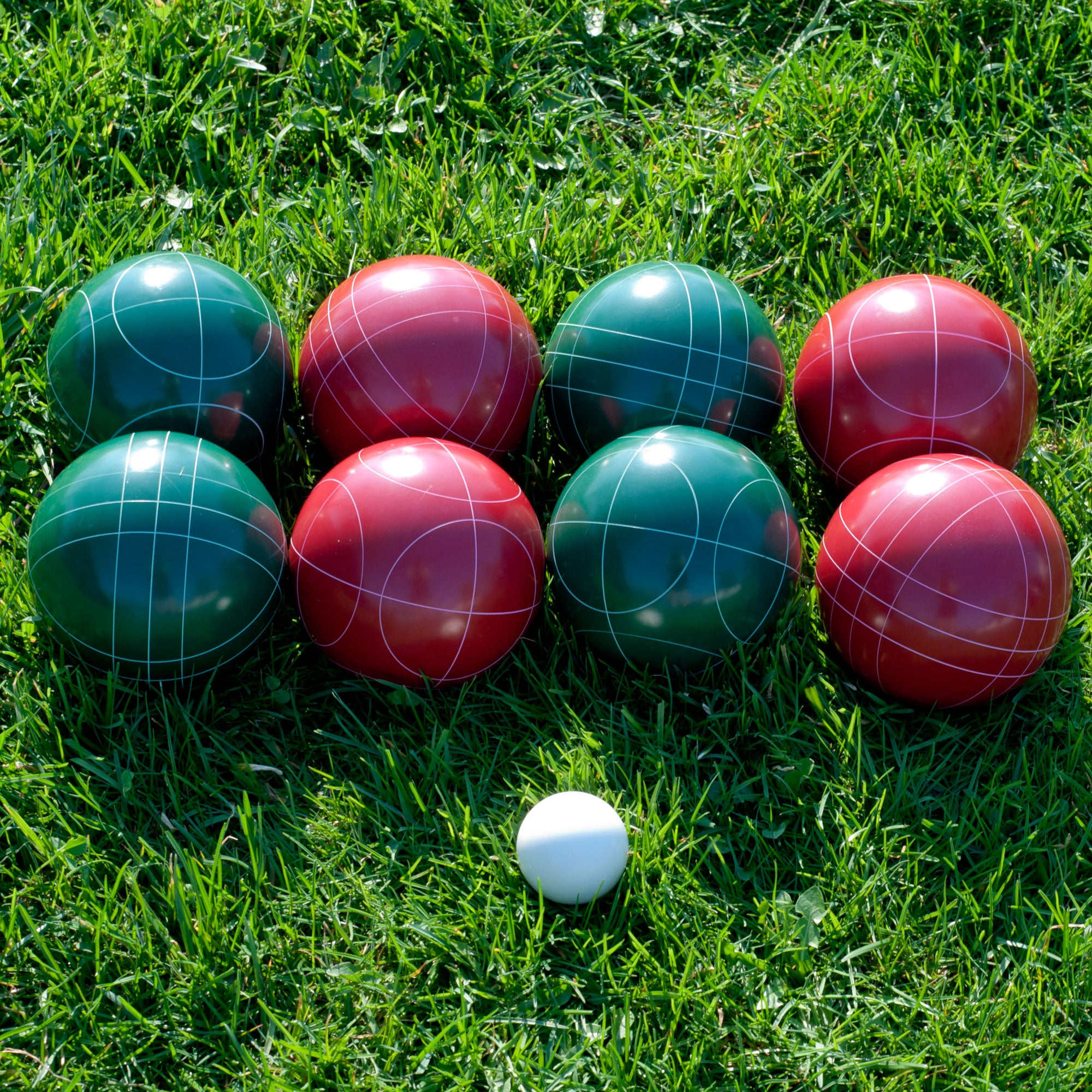 Regulation size Bocce Ball Set Free Shipping Today Overstock