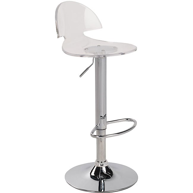 Venti Clear Acrylic Bar Stool Free Shipping Today 12725338