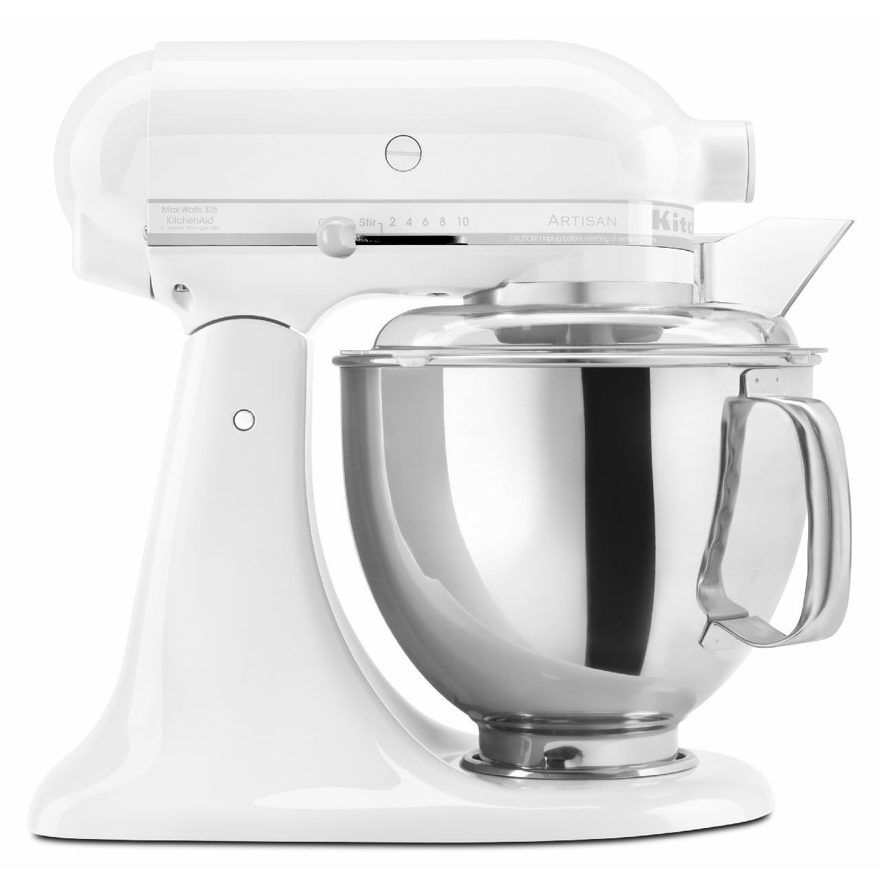 Shop KitchenAid KSM150PS 5-Quart Artisan Tilt-Head Stand Mixer - Free Shipping Today - Overstock - 4838522
