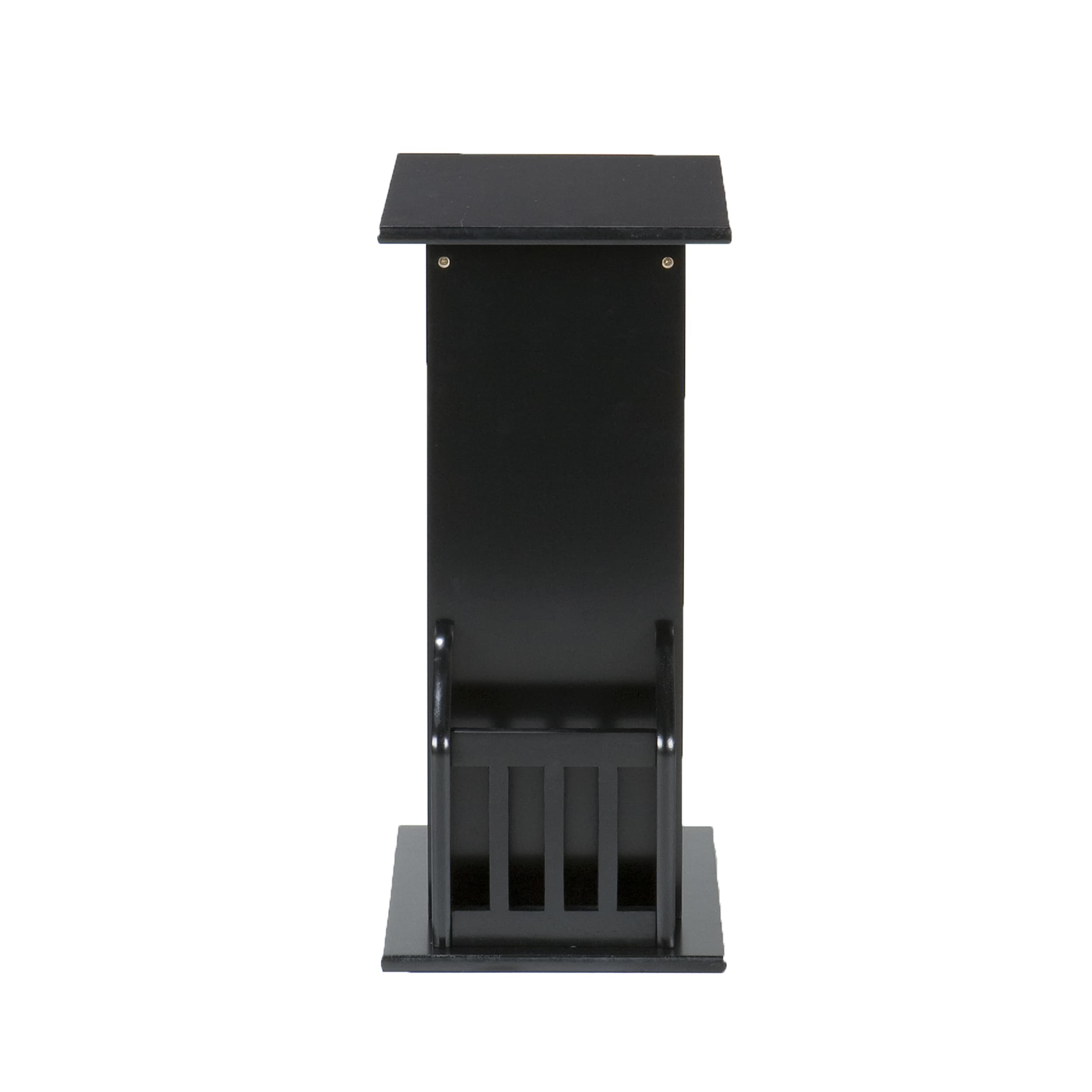 Porch U0026 Den RiNo Arkins Black Magazine Snack Table   Free Shipping On  Orders Over $45   Overstock   12738453
