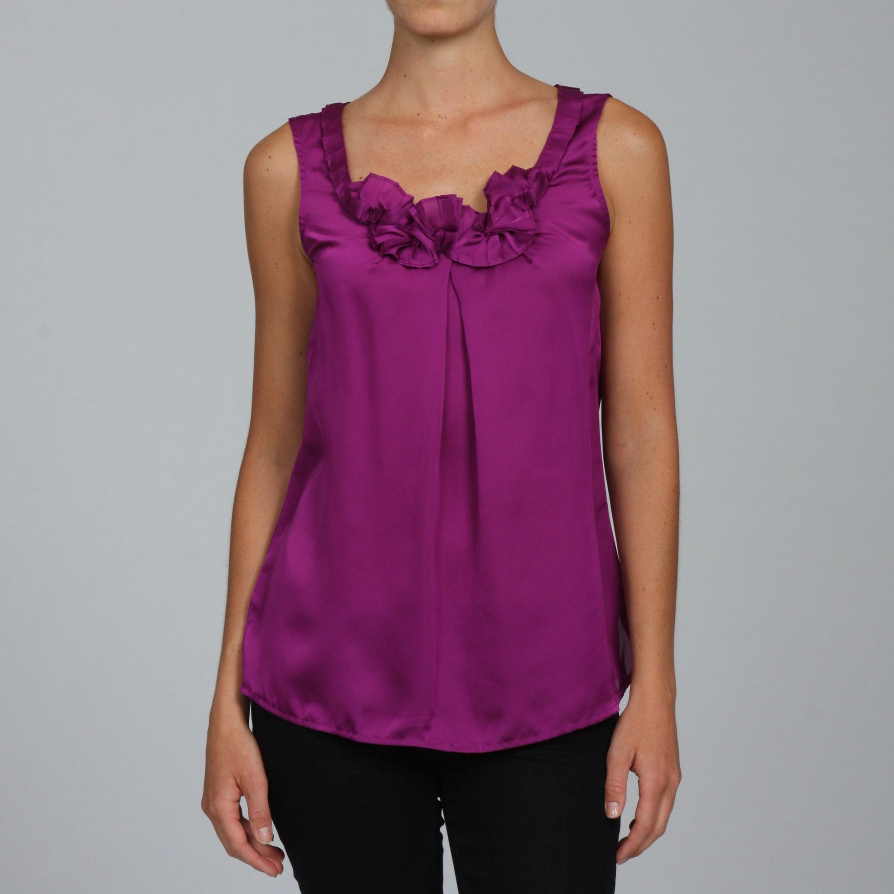 Shop Violet U0026 Claire Womenu0027s Missy Sleeveless Blouse   Free Shipping On  Orders Over $45   Overstock   4854120