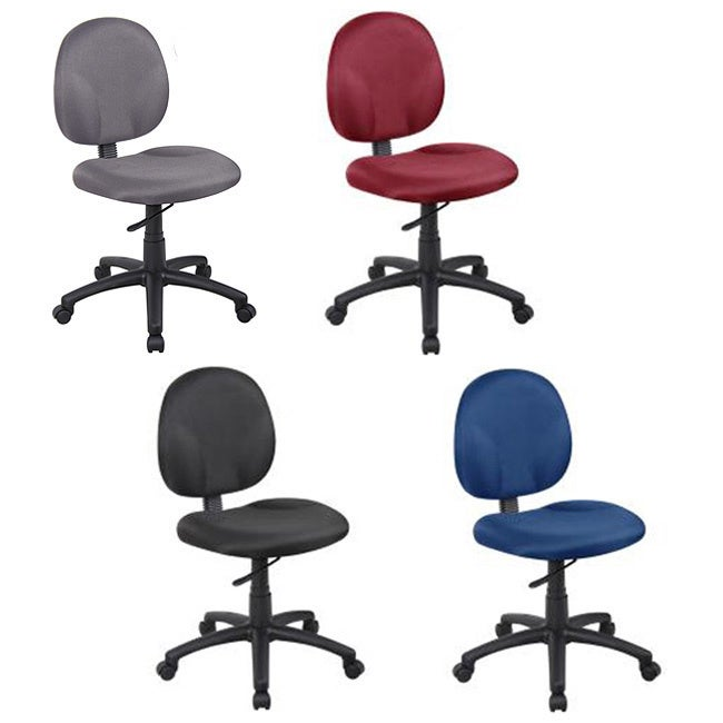 Shop Boss Wide Seat Fabric Task Chair   Free Shipping Today   Overstock.com    4859331