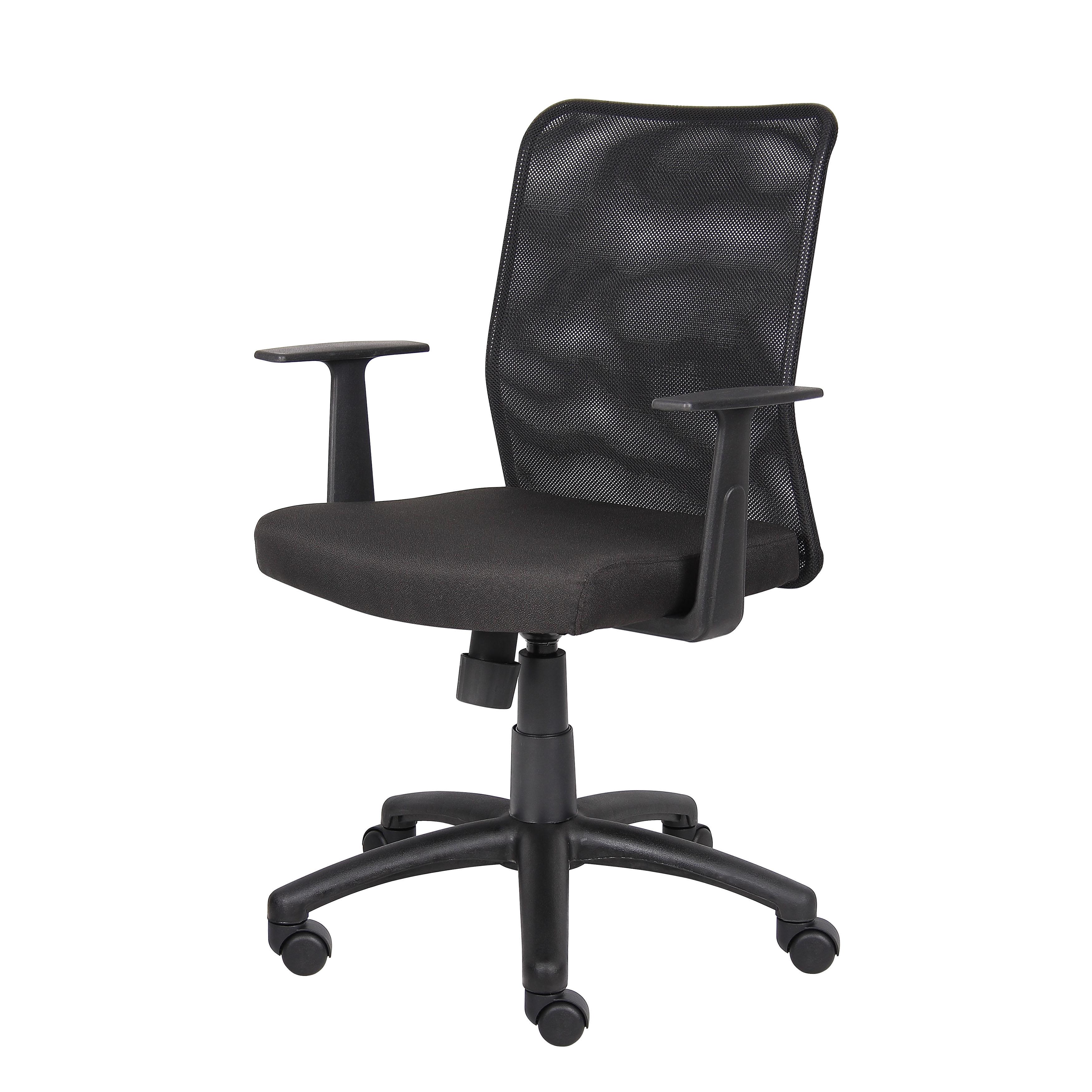 mesh black chair lite office