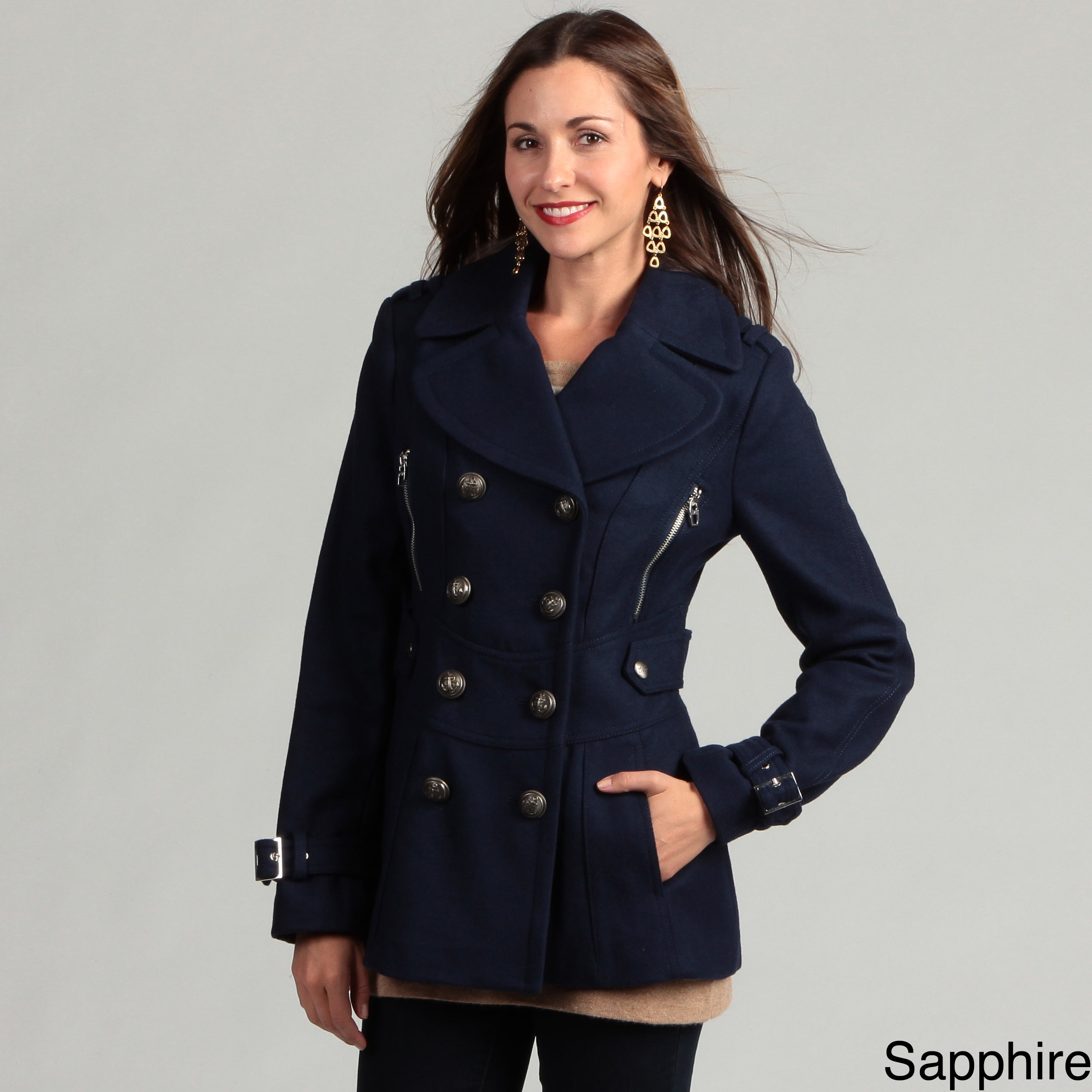 How to peacoat a wear womens