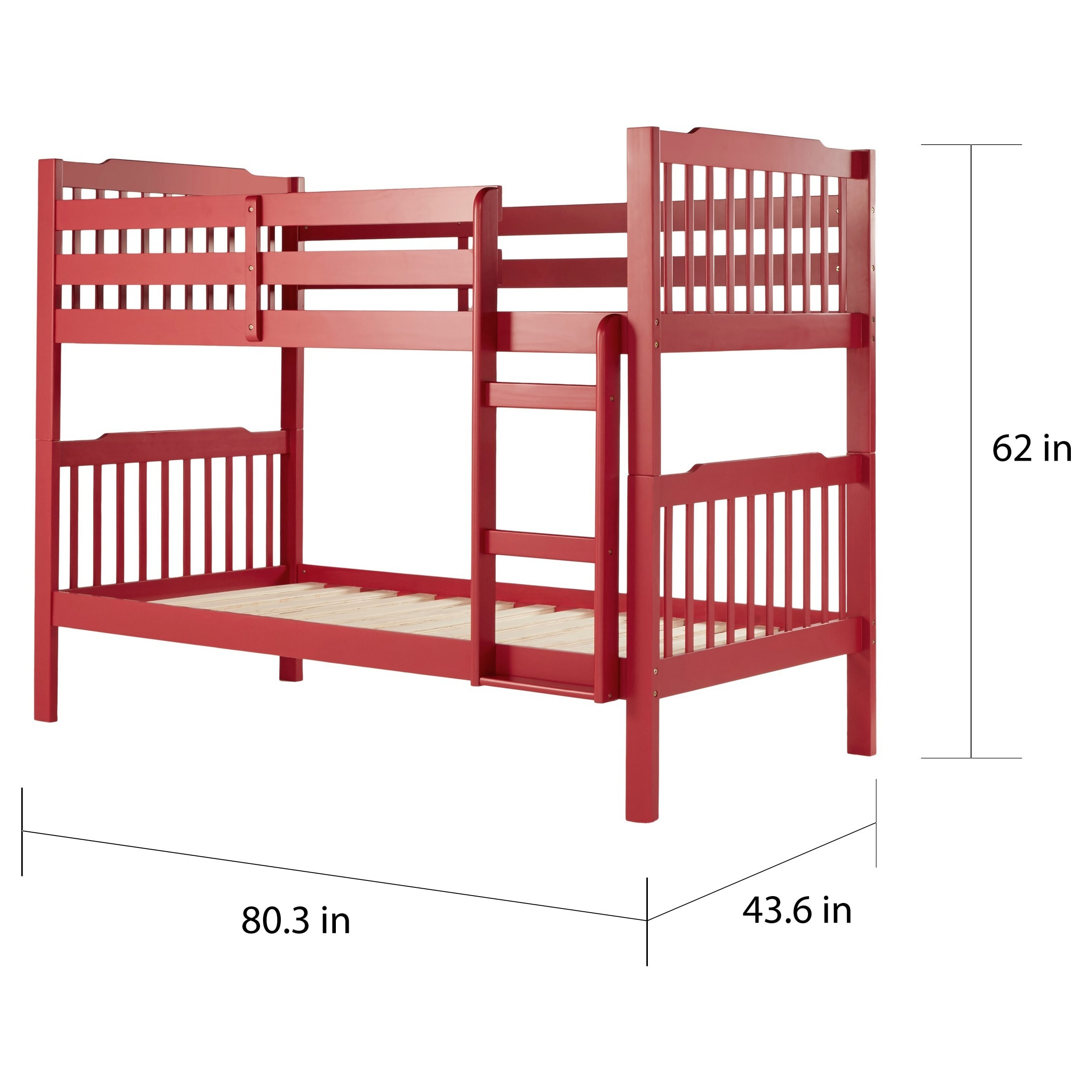 Simone Twin and Twin Bunk Beds by iNSPIRE Q Junior - Free Shipping Today -  Overstock.com - 12759194