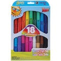 Kelly's Crafts Glimmer Stain Pens (Pack of 18)