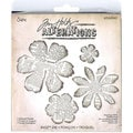 Sizzix Tim Holtz 'Tattered Florals' Bigz BIGkick/ Big Shot Dies