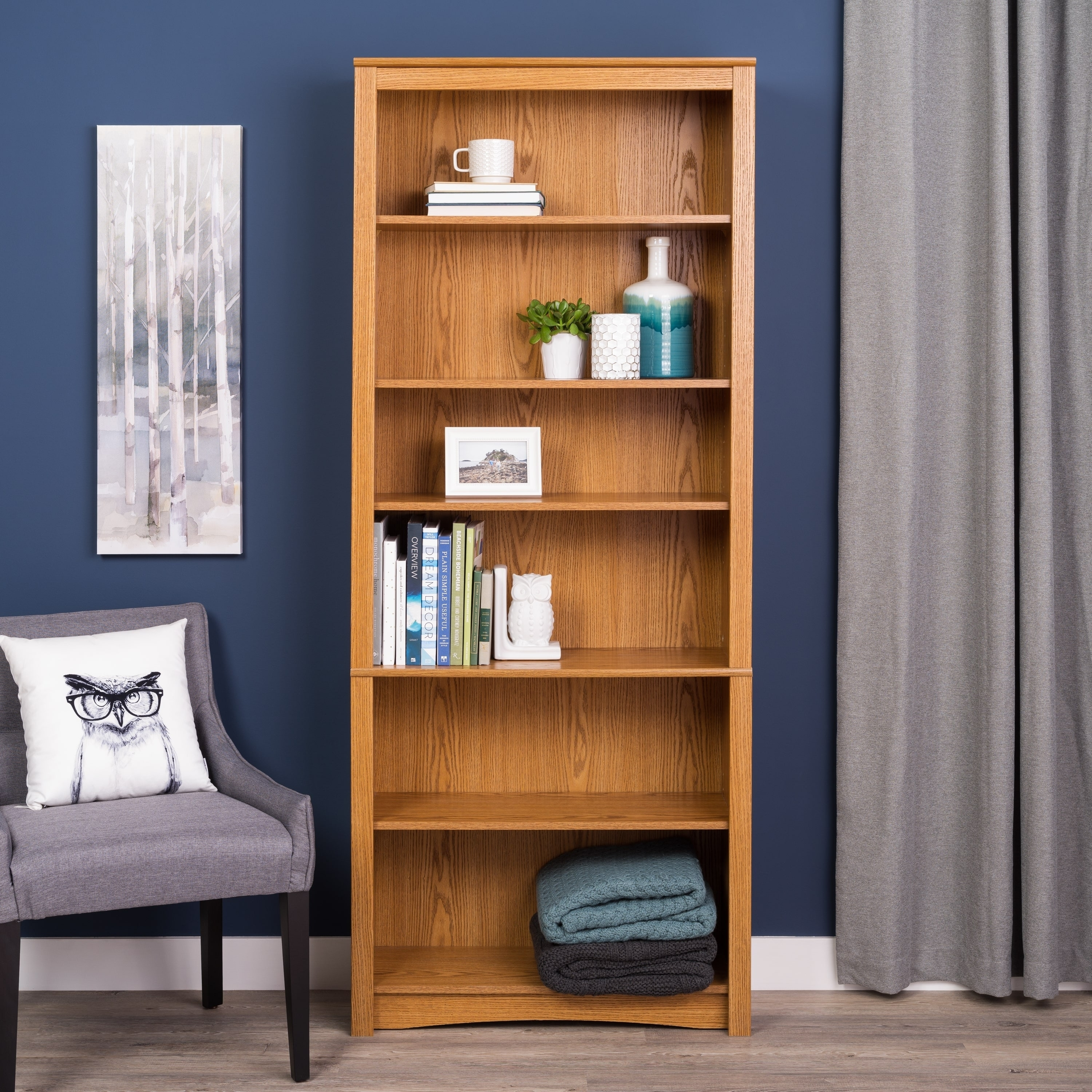 Shop 6-shelf Bookcase - Free Shipping Today - Overstock.com - 499785