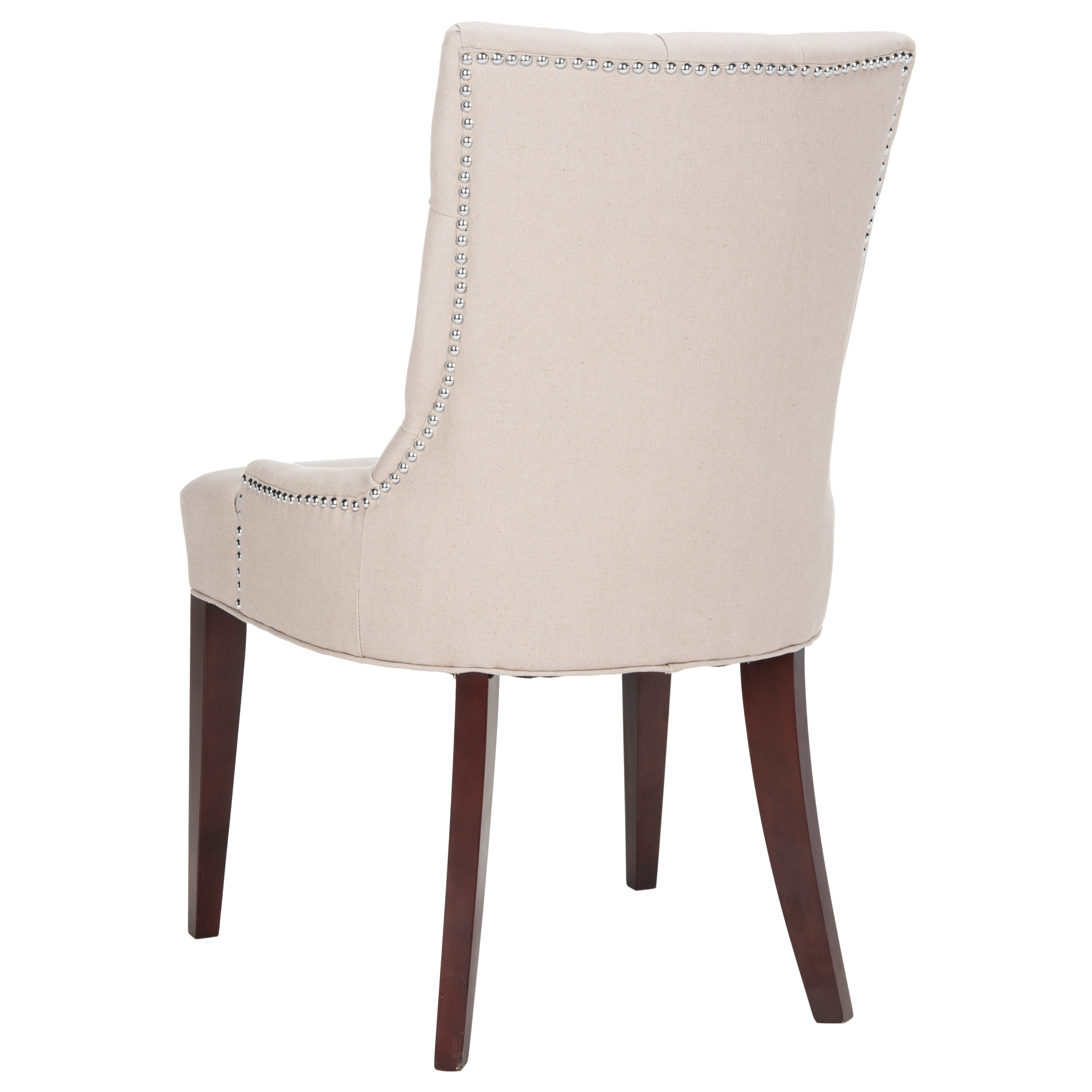 Safavieh En Vogue Dining Nimes Putty Grey Dining Chair   Free Shipping  Today   Overstock   12897848