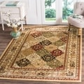Safavieh Lyndhurst Traditional Oriental Multicolor/ Beige Rug (8' 11 x 12' rectangle)