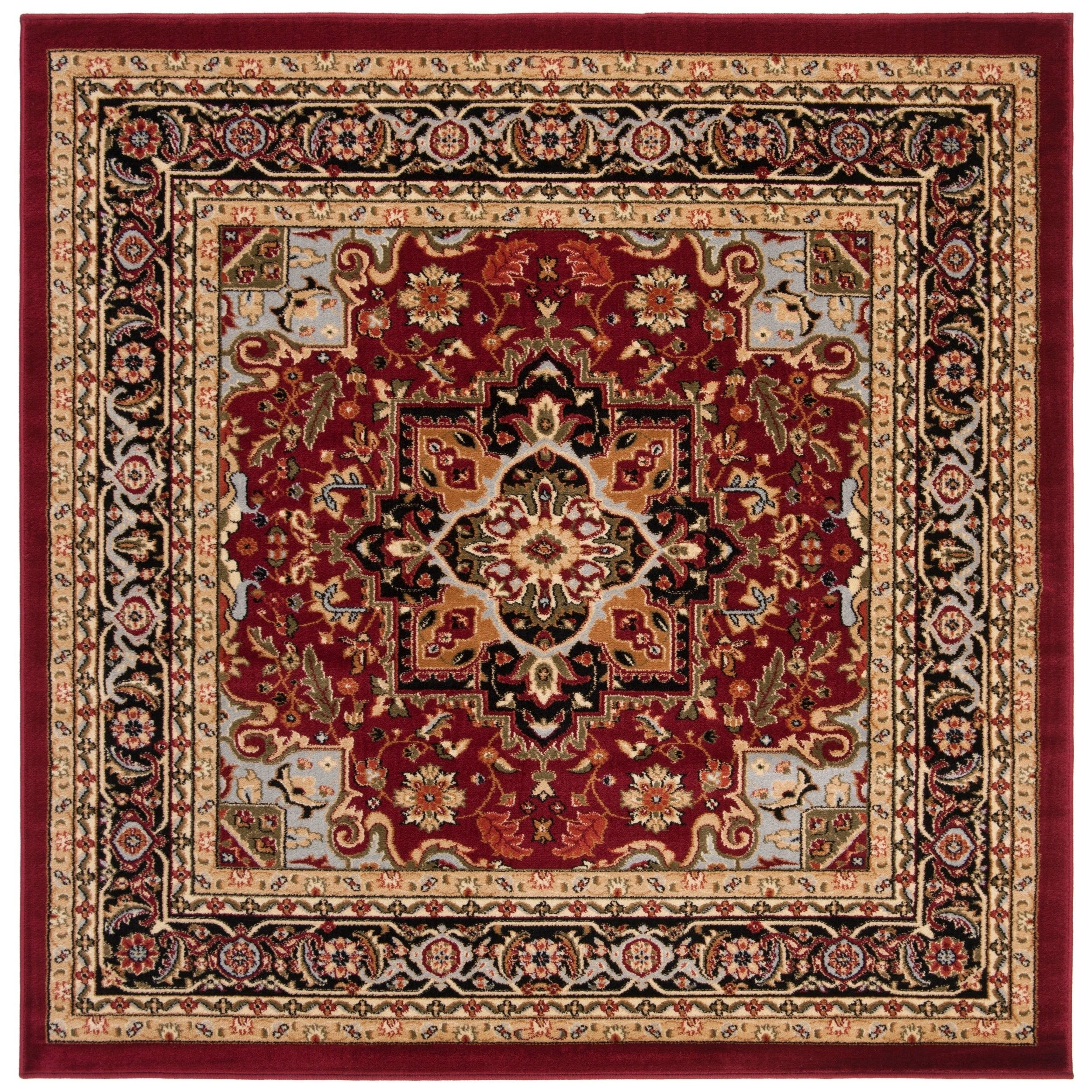 Shop Safavieh Lyndhurst Traditional Oriental Red Black Area Rug 6